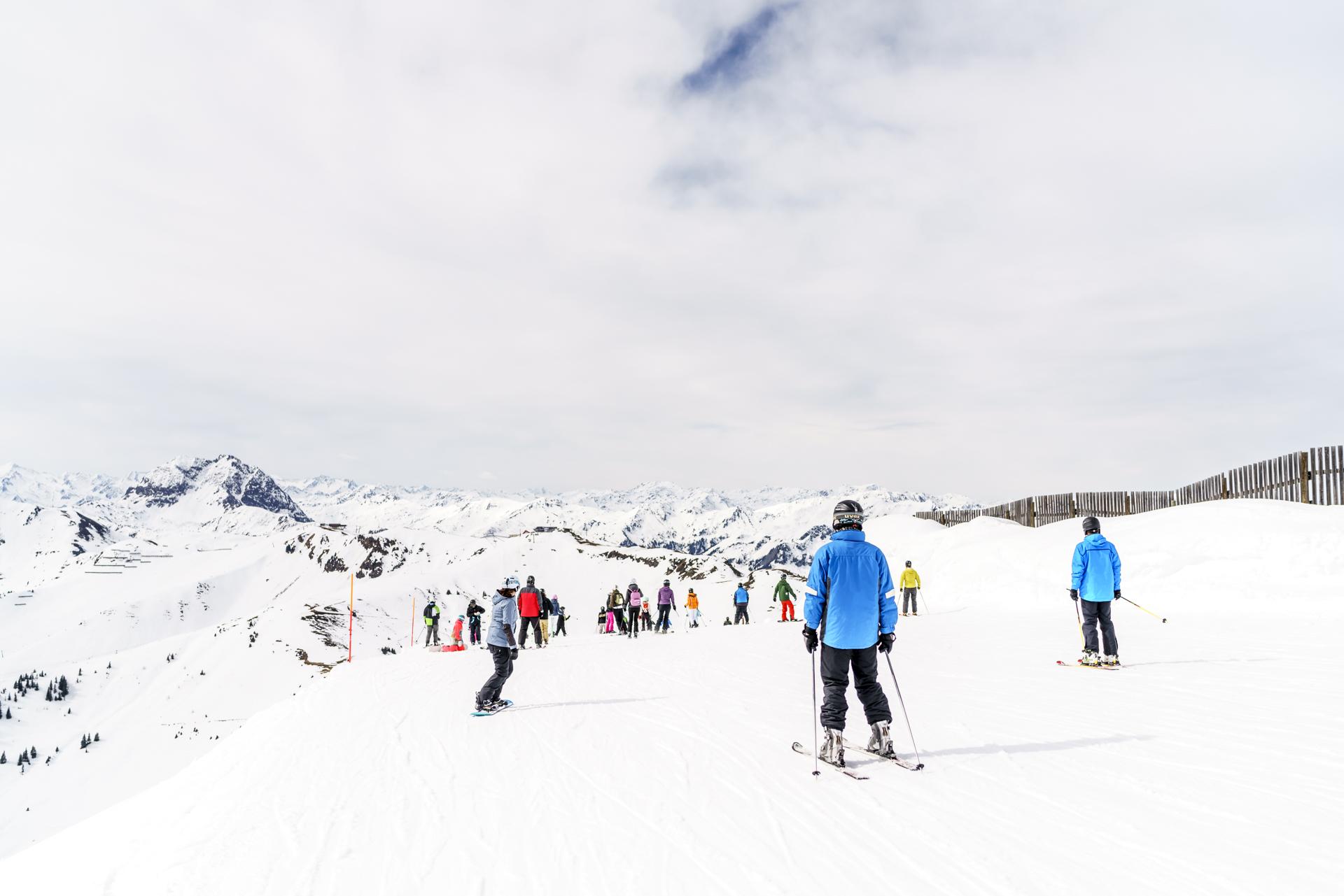 Skigebiet Hahnenkamm