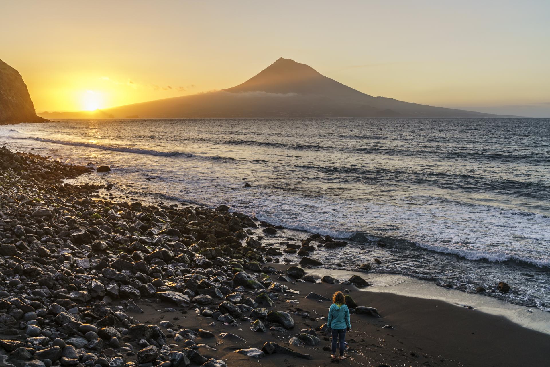 Sonnenaufgang Pico Faial