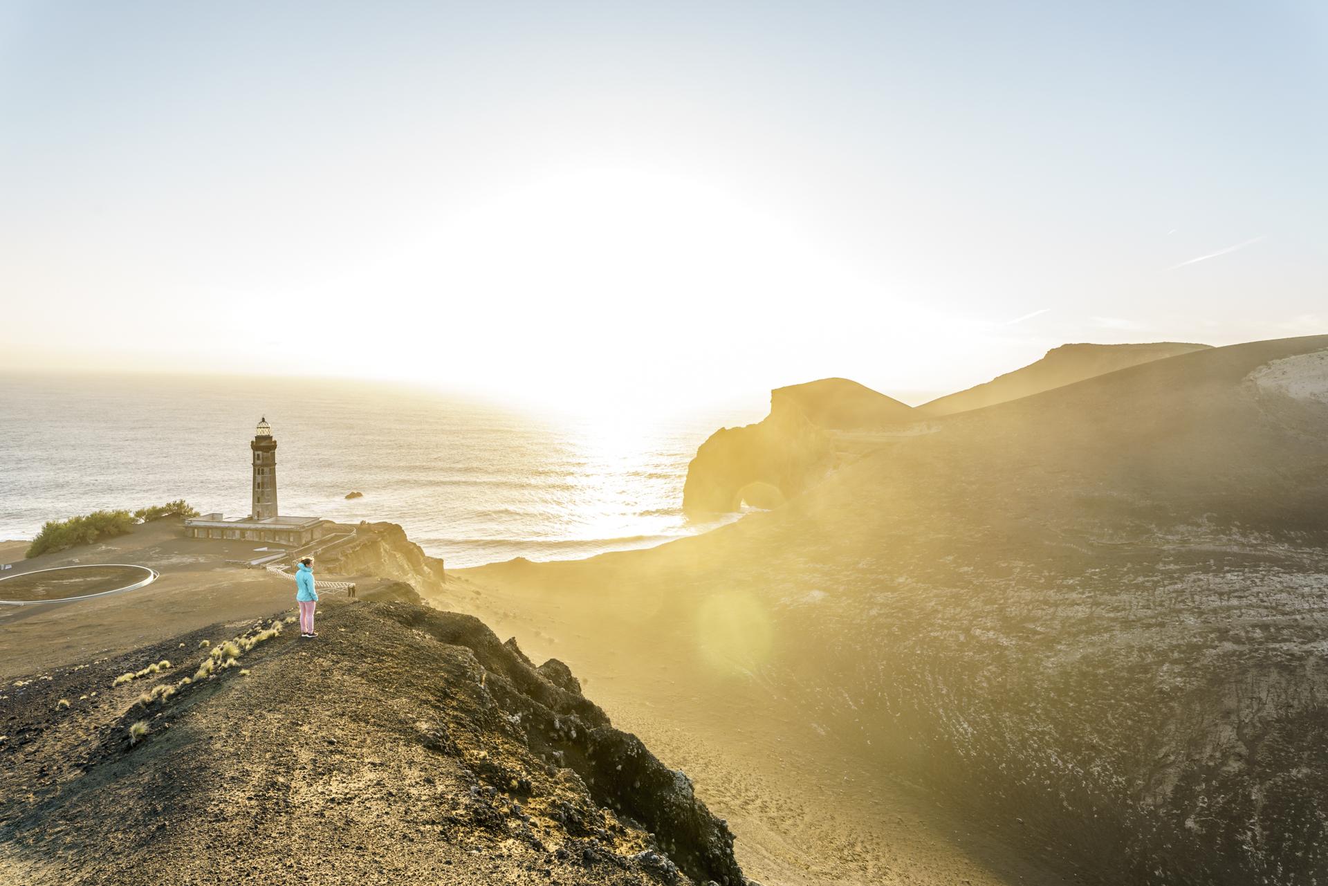 Sonnenuntergang Ponta Capelinhos