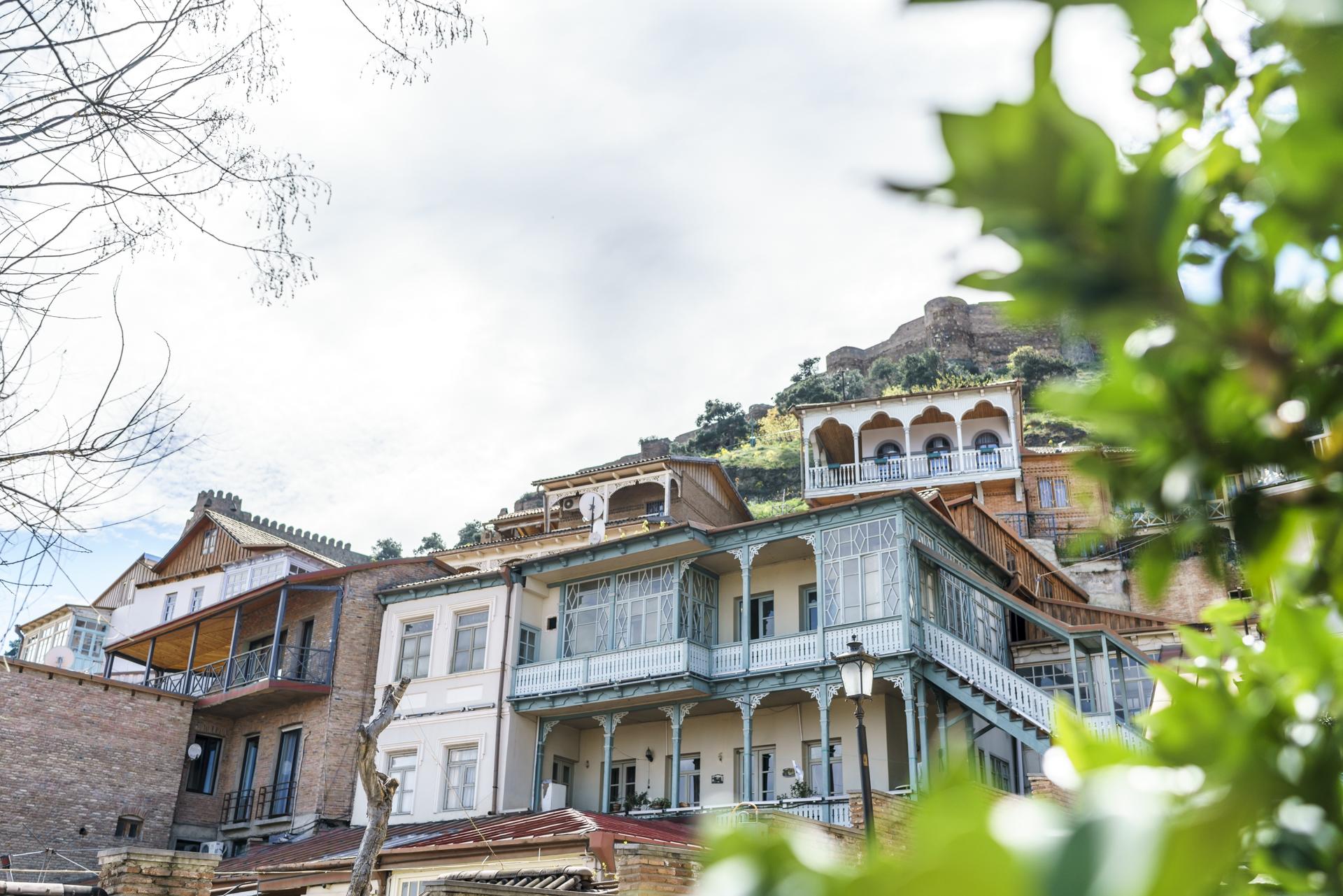 Altstadthäuser Tiflis