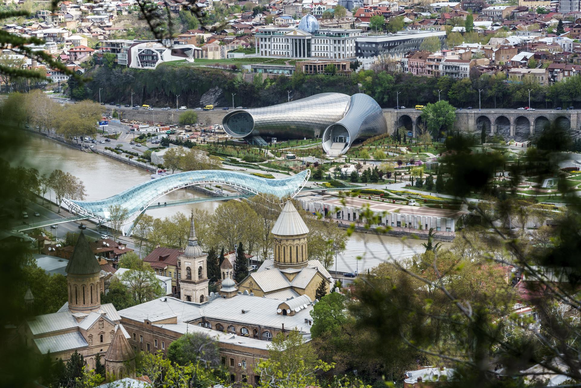 Aussicht Narikala Tiflis