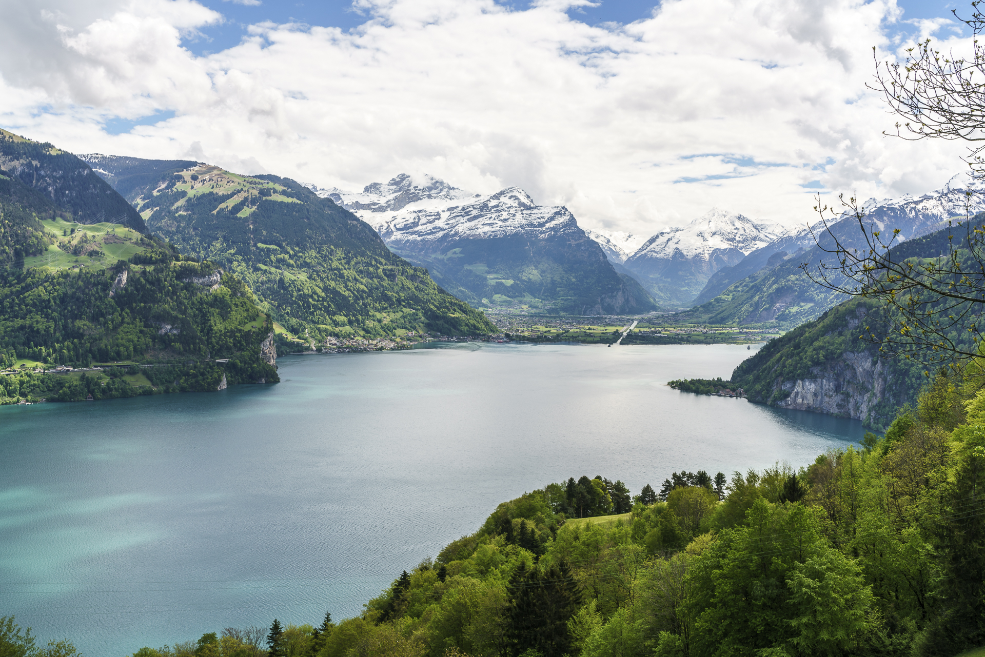 Aussicht Urnersee Weg der Schweiz
