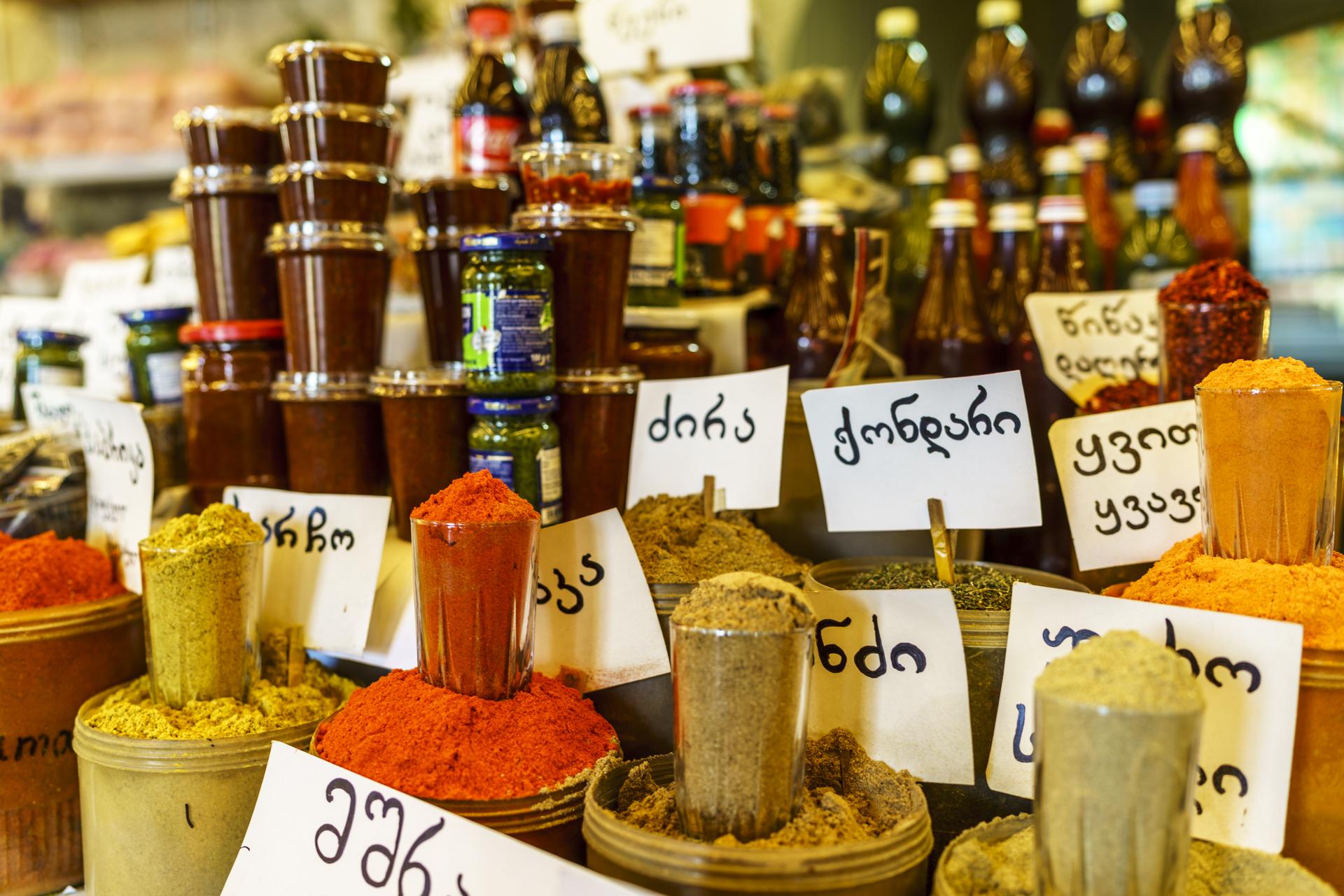 Dezertirebi Bazaar Gewürze