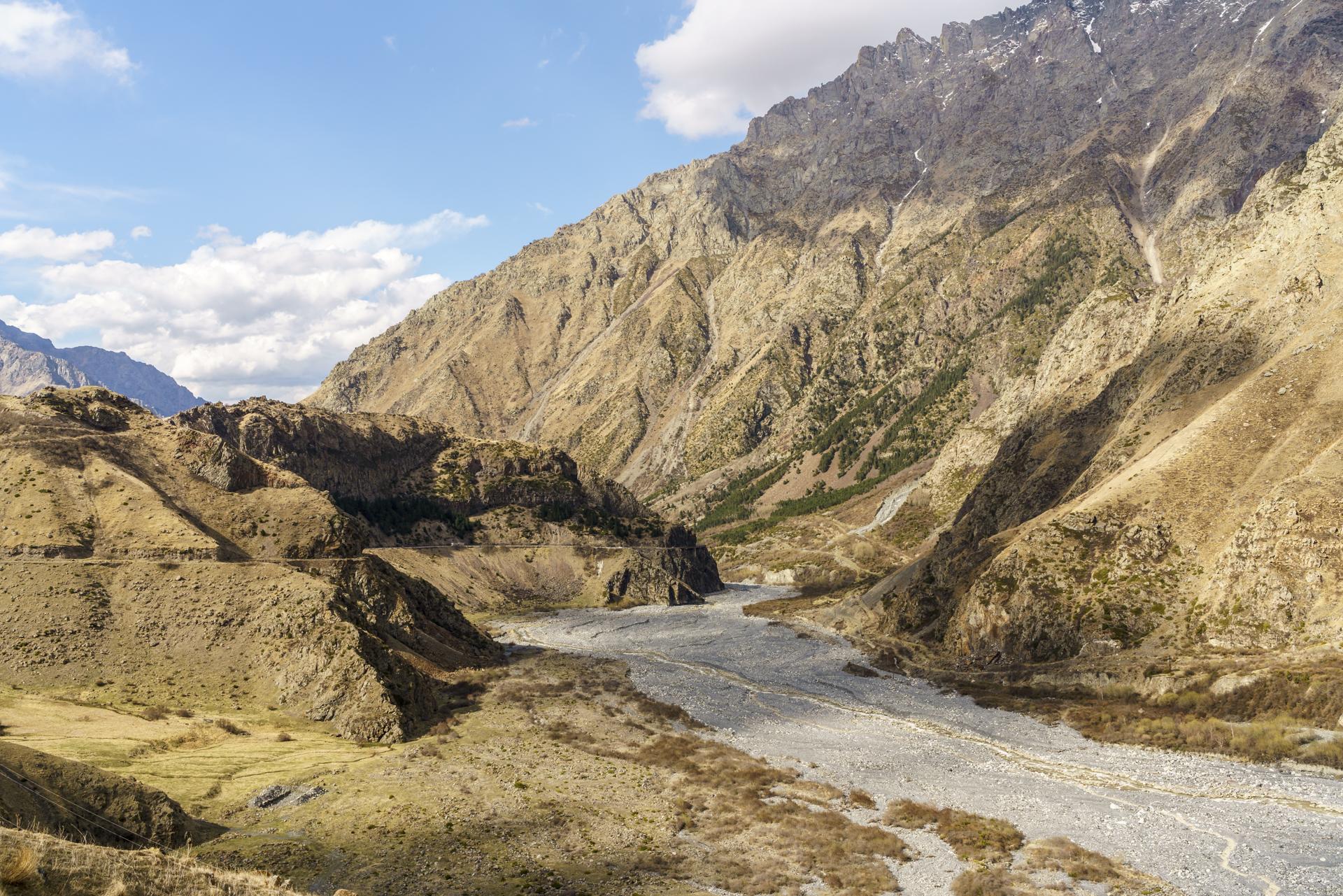 Russisch Georgische Grenze