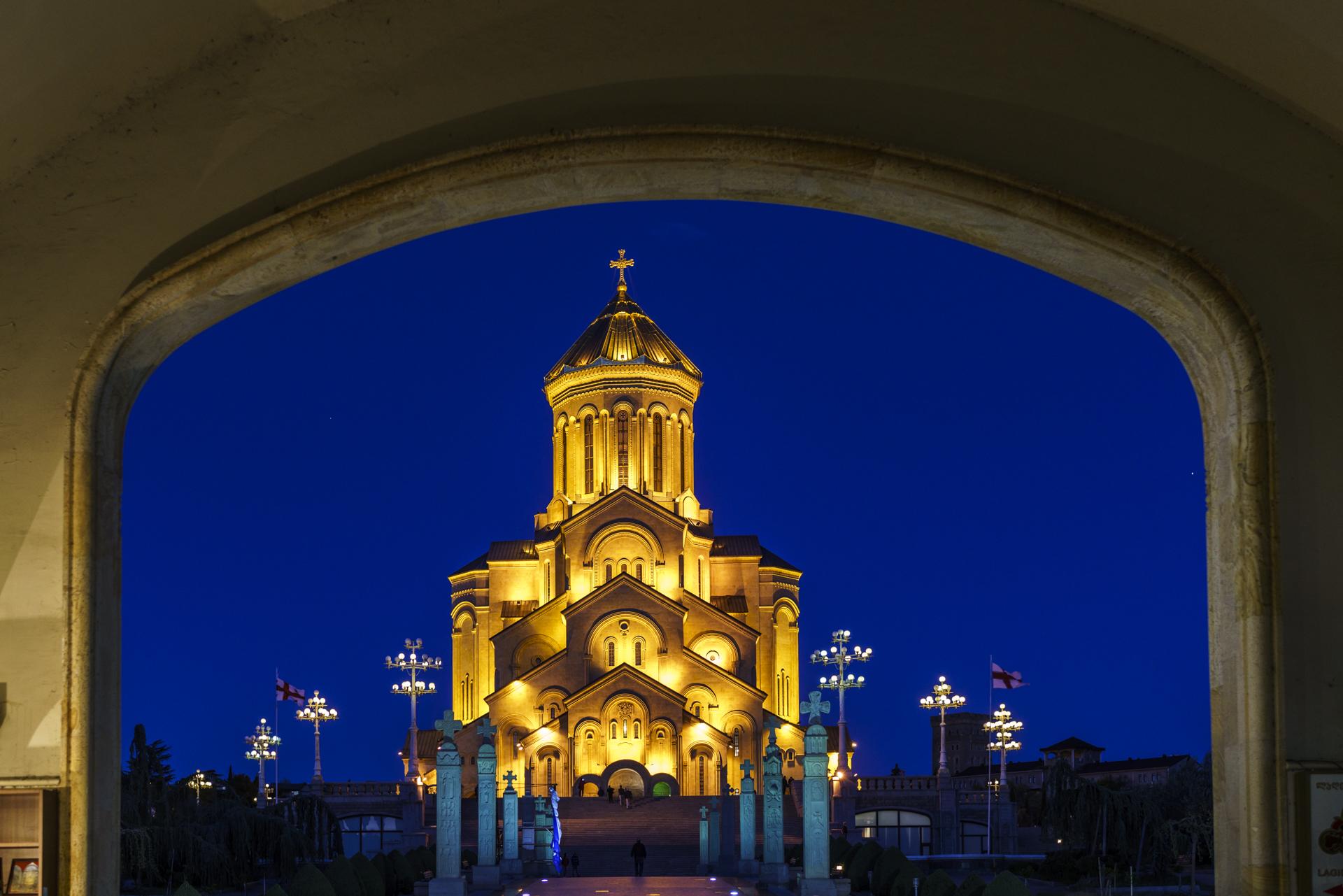 Sameba Kathedrale Tiflis