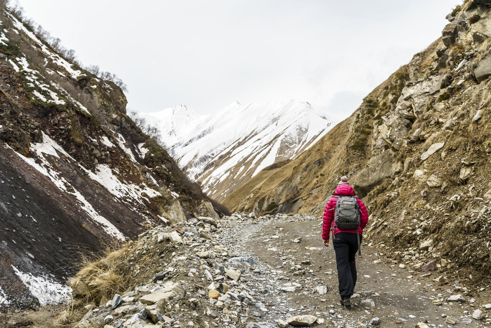 Trusso Schlucht Kaukasus