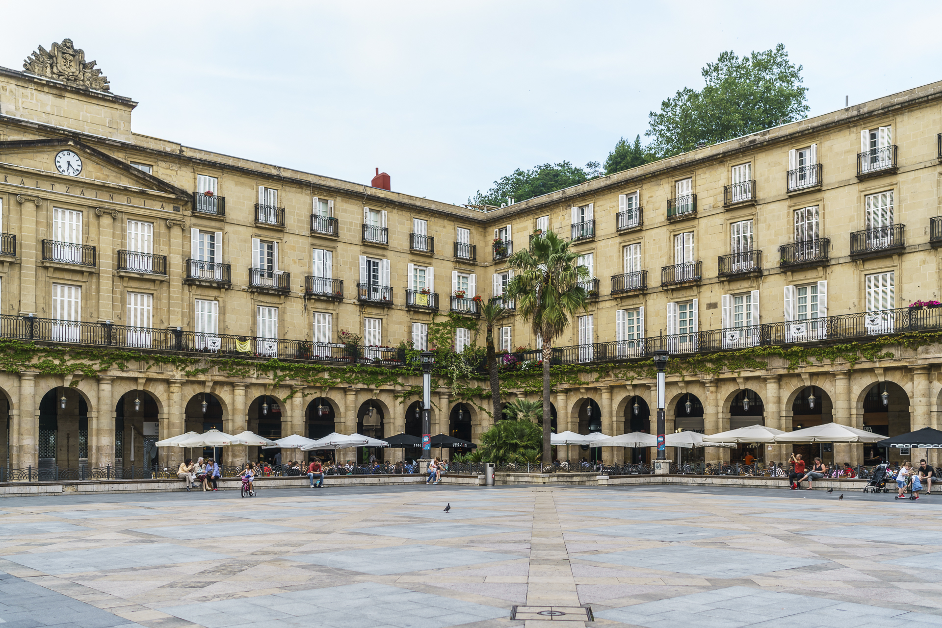 Bilbao Plätze