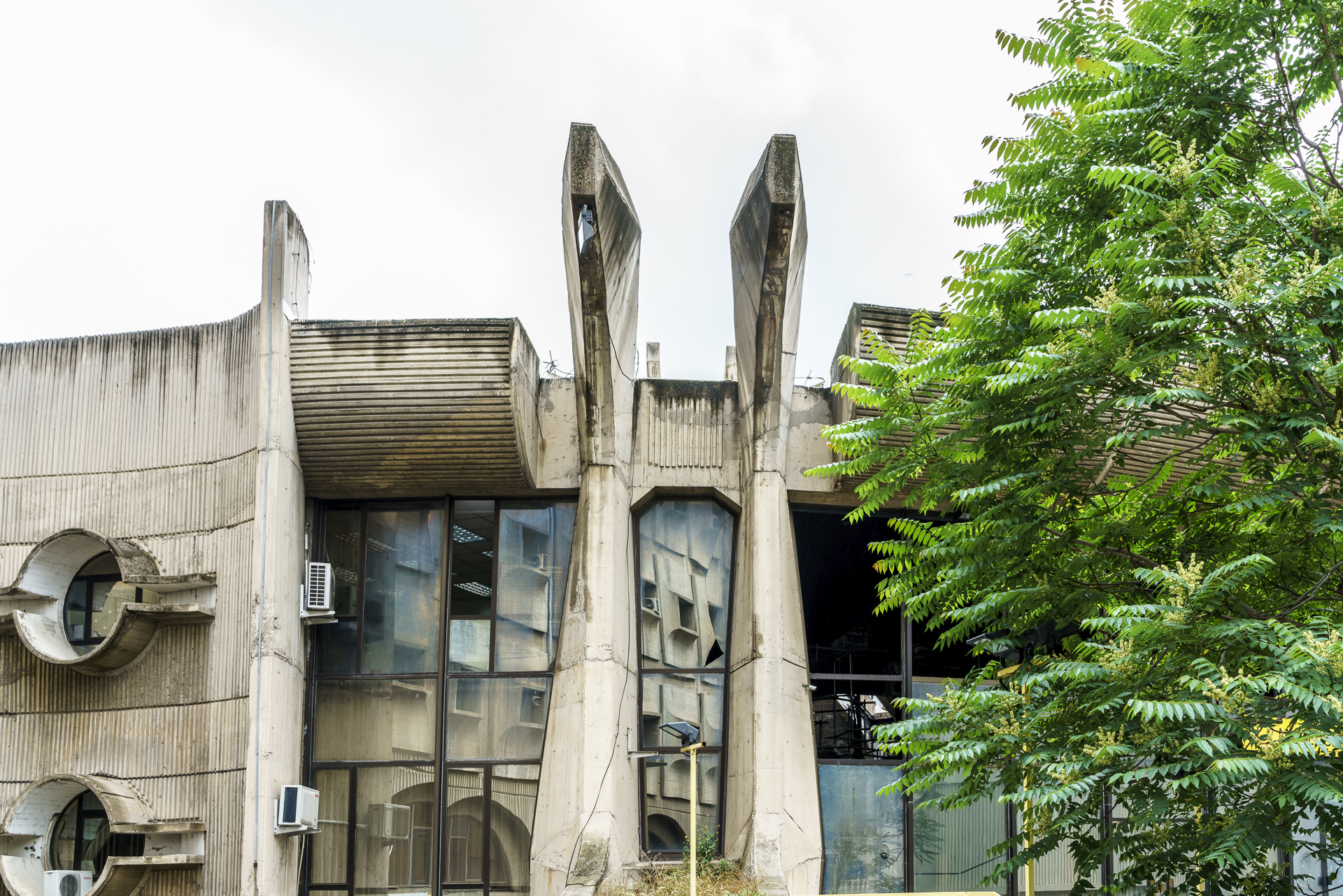 Glavna Posta Architektur Skopje