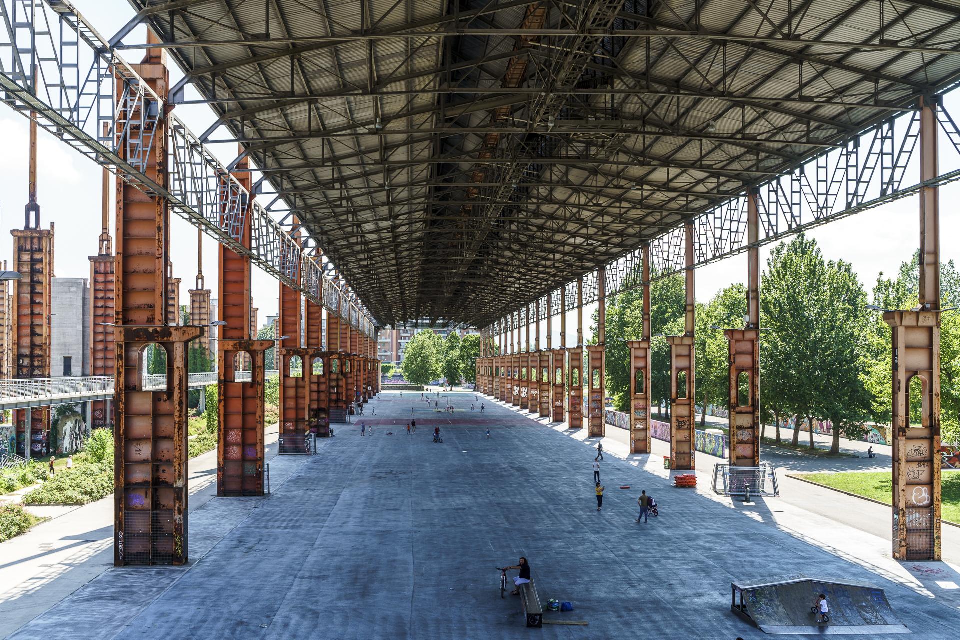Fiat Walzwerk Parco Dora Turin