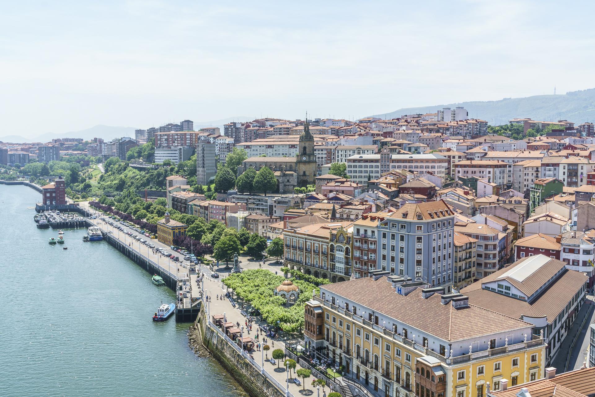 Aussicht Puente de Portugalete Bilbao