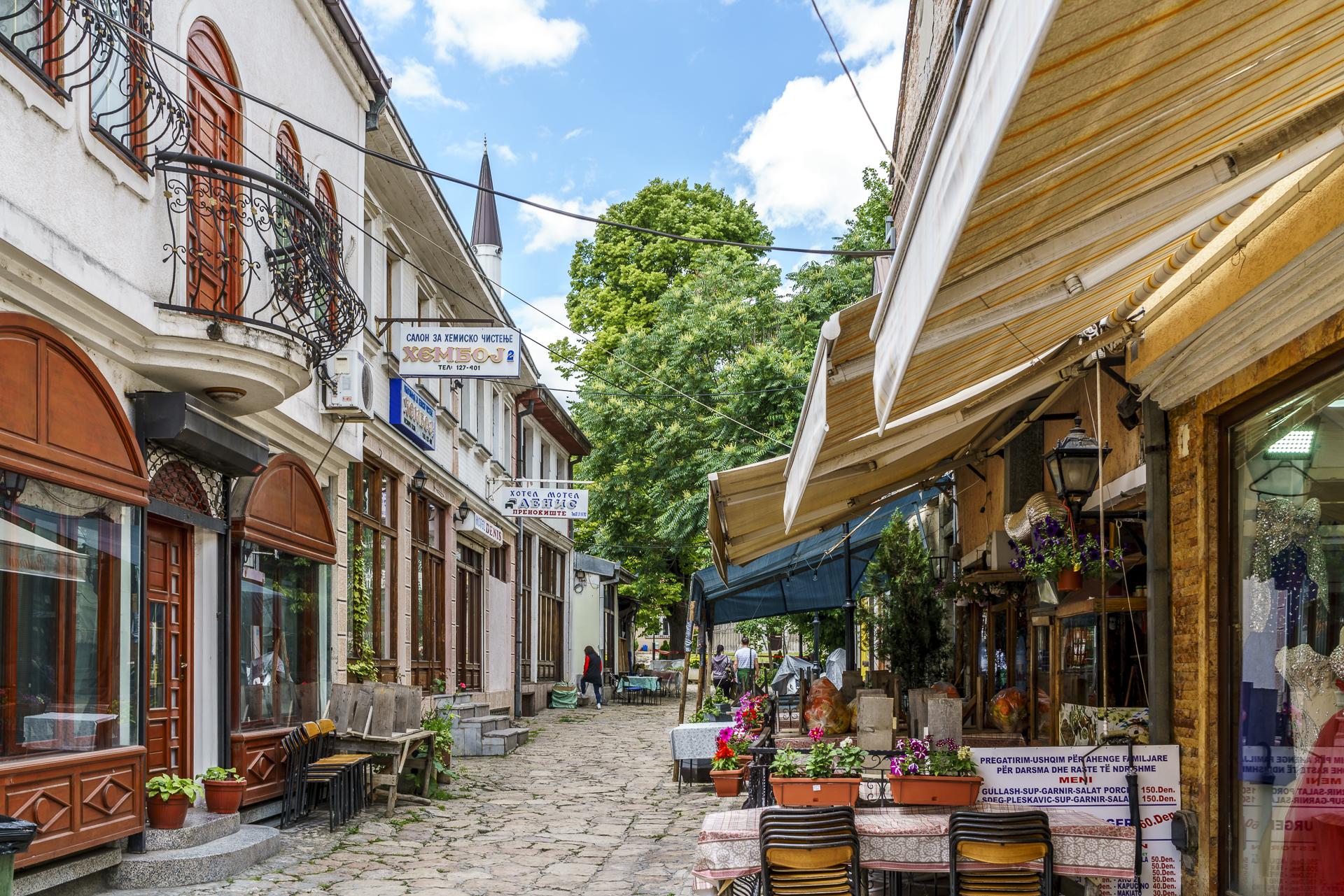 Skopje Old Bazaar Gassen