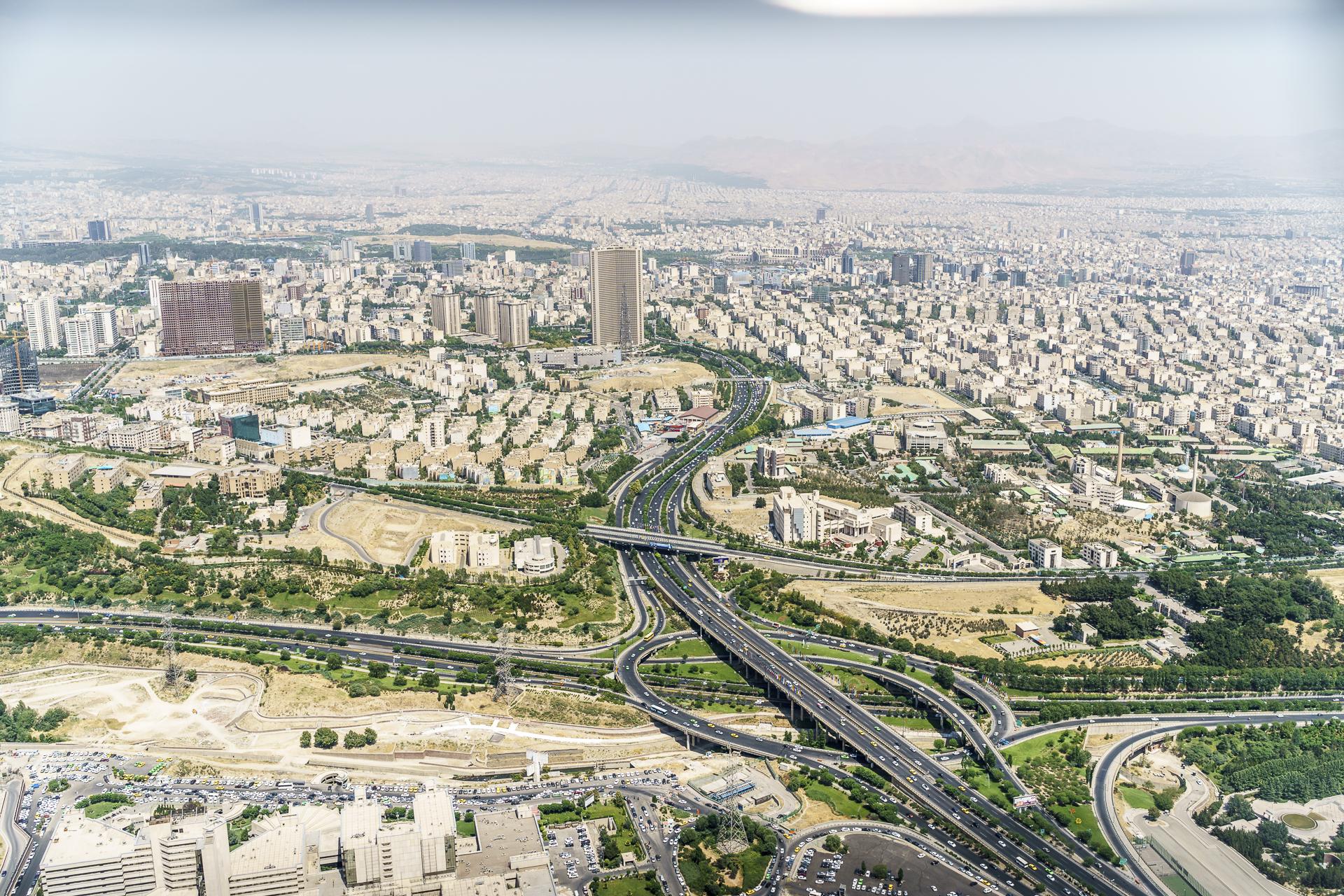 15 Millionenmetropole Teheran