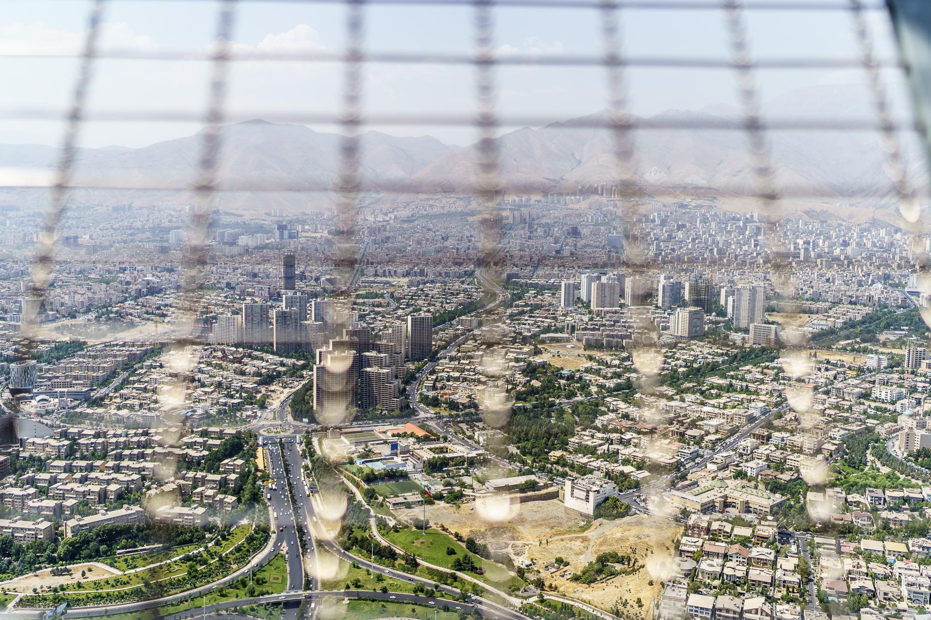 Aussicht Milad Tower