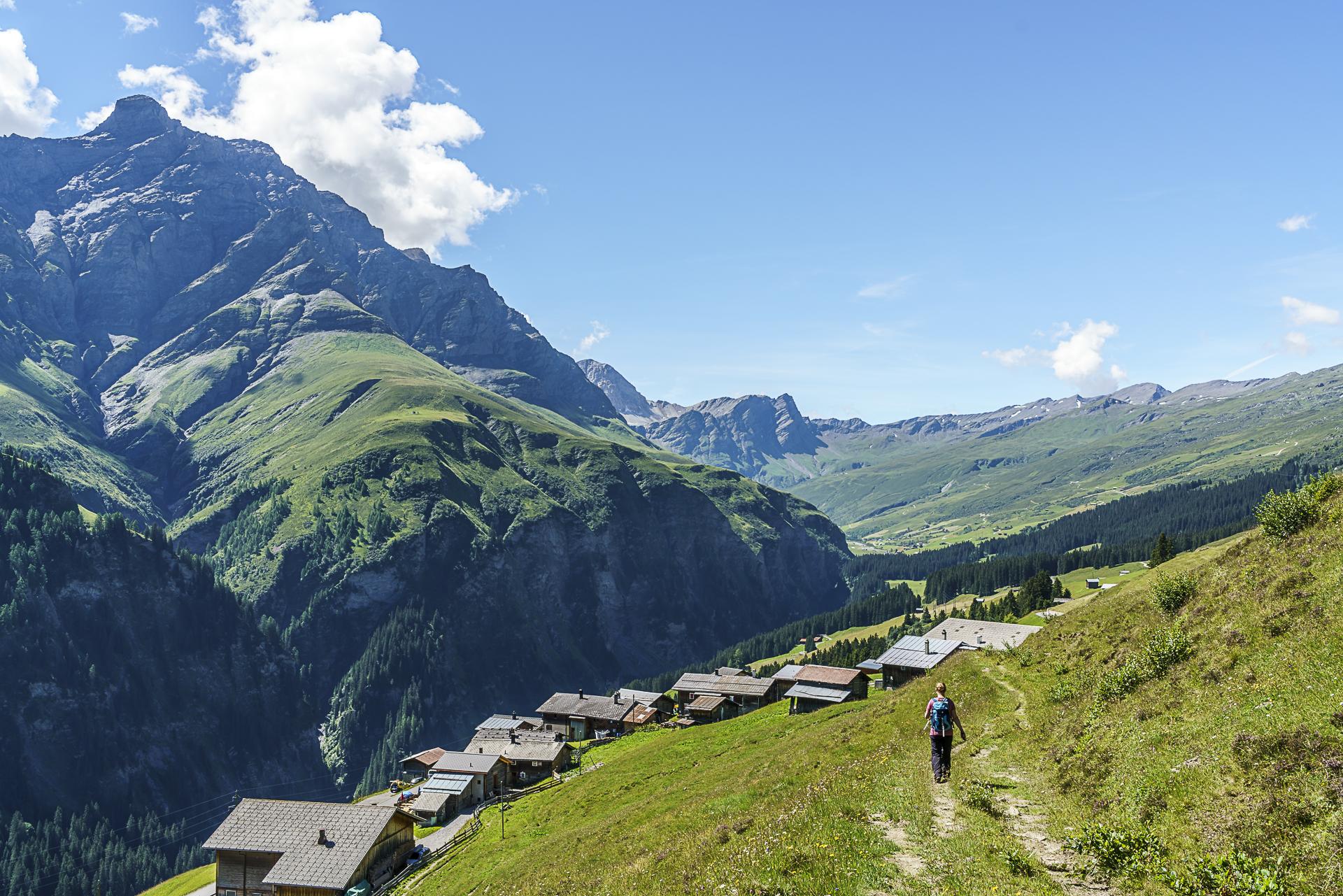 Camanaboden Safiental Walserweg