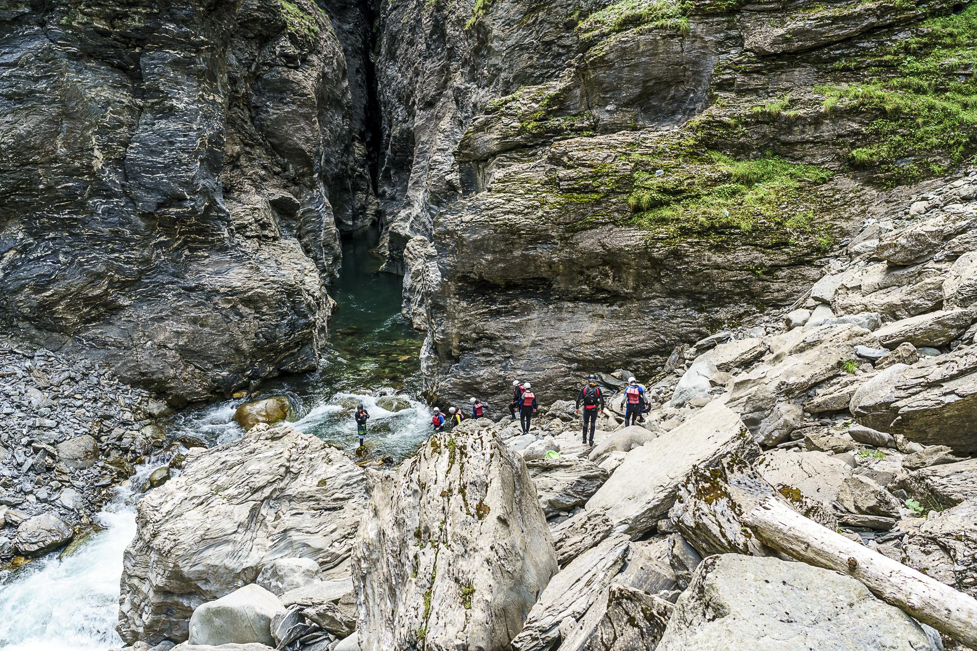 Canyoning Viamala