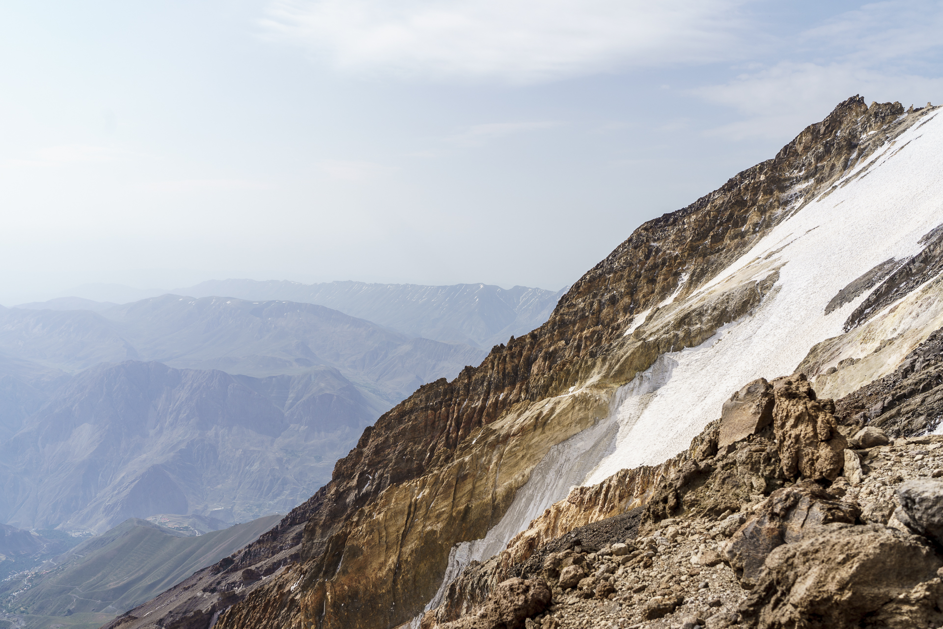 Damavand Gletscher