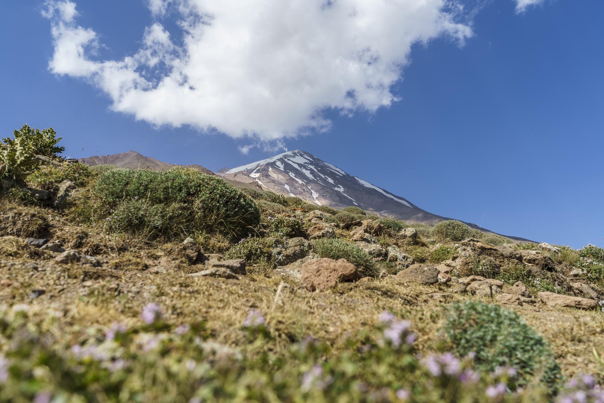 Mount Damavand Nordflanke