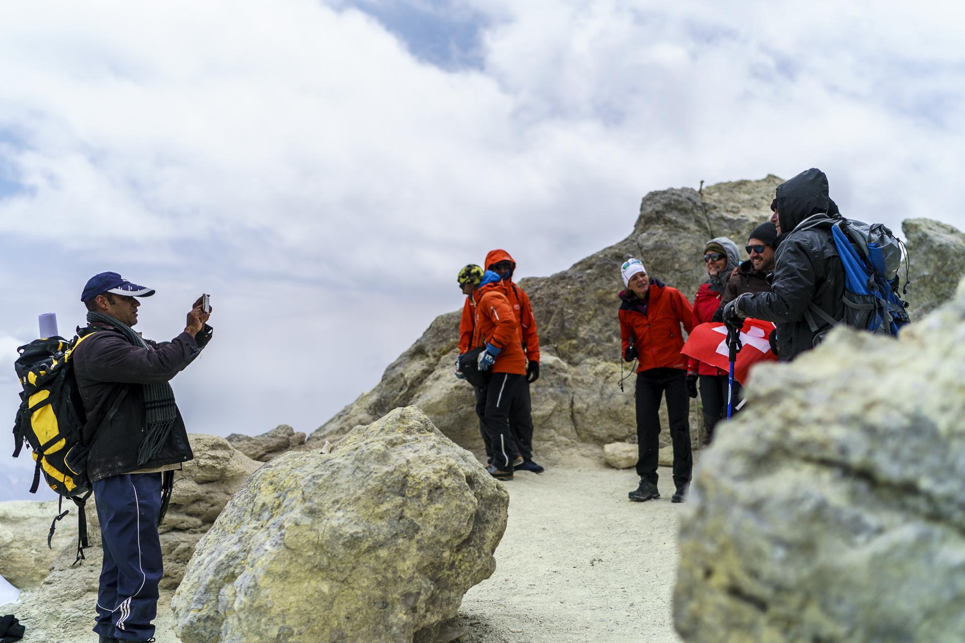Gipfelfoto Damavand