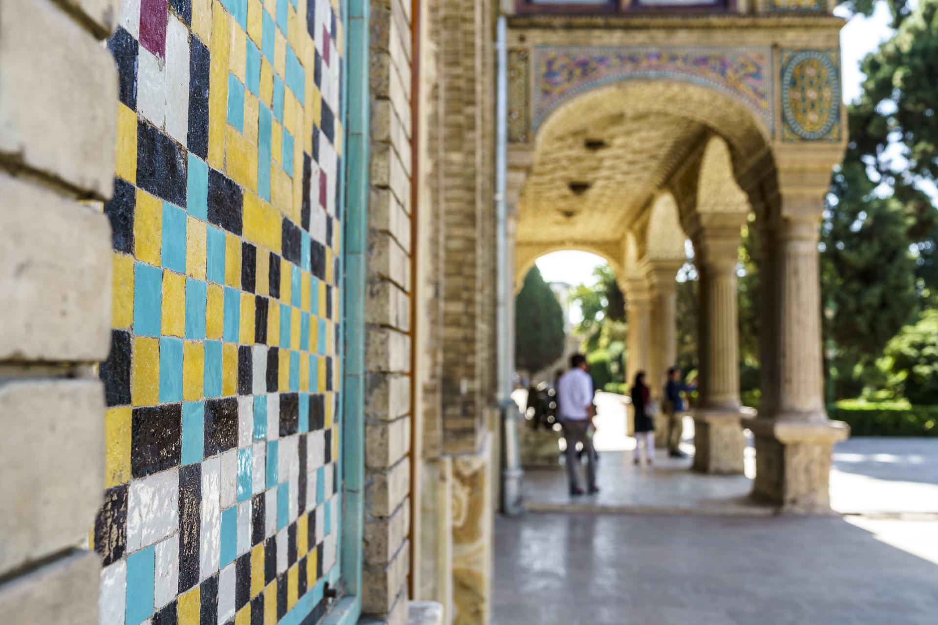 Golestan Palast Details