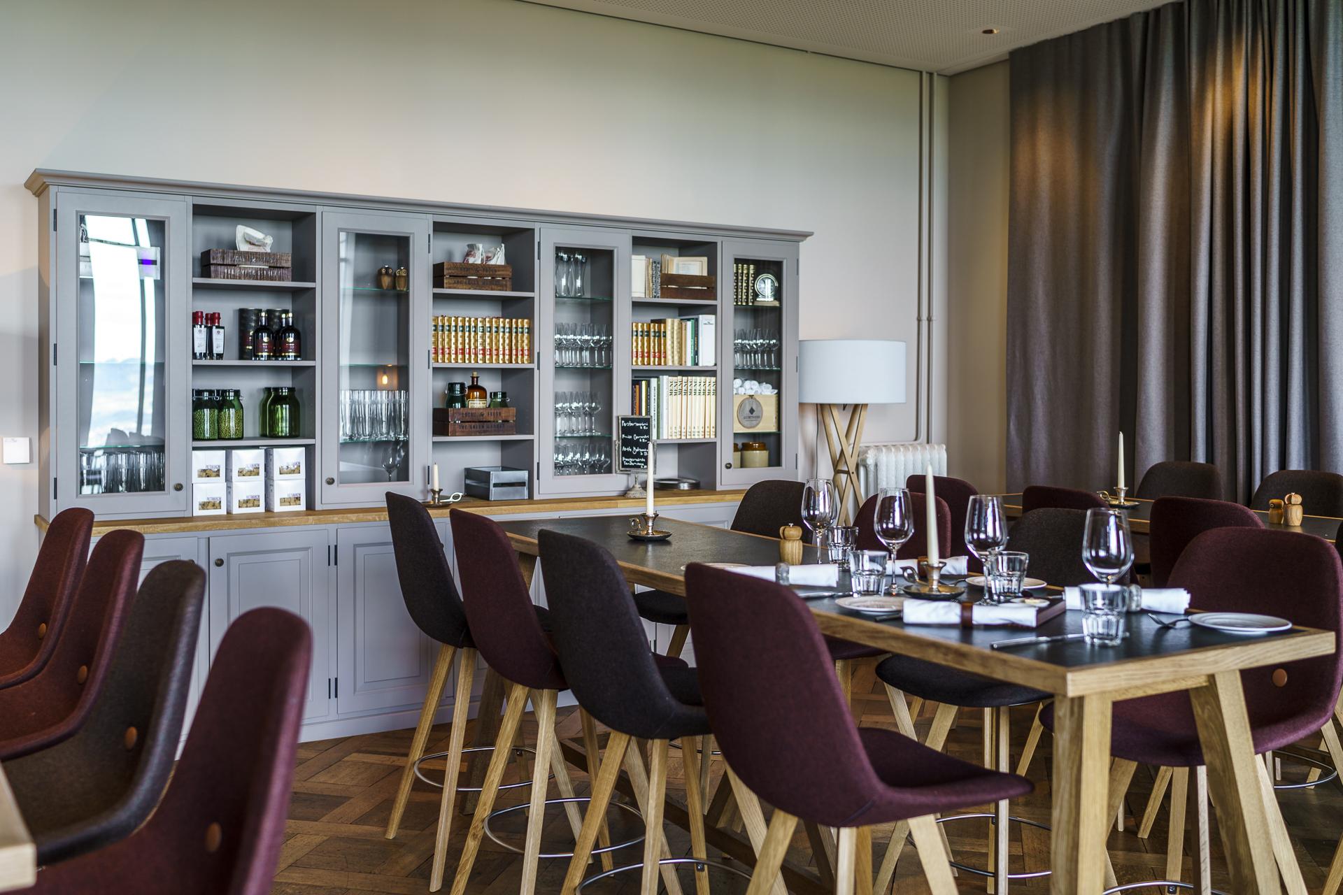 Gurtners Restaurant Bibliothek