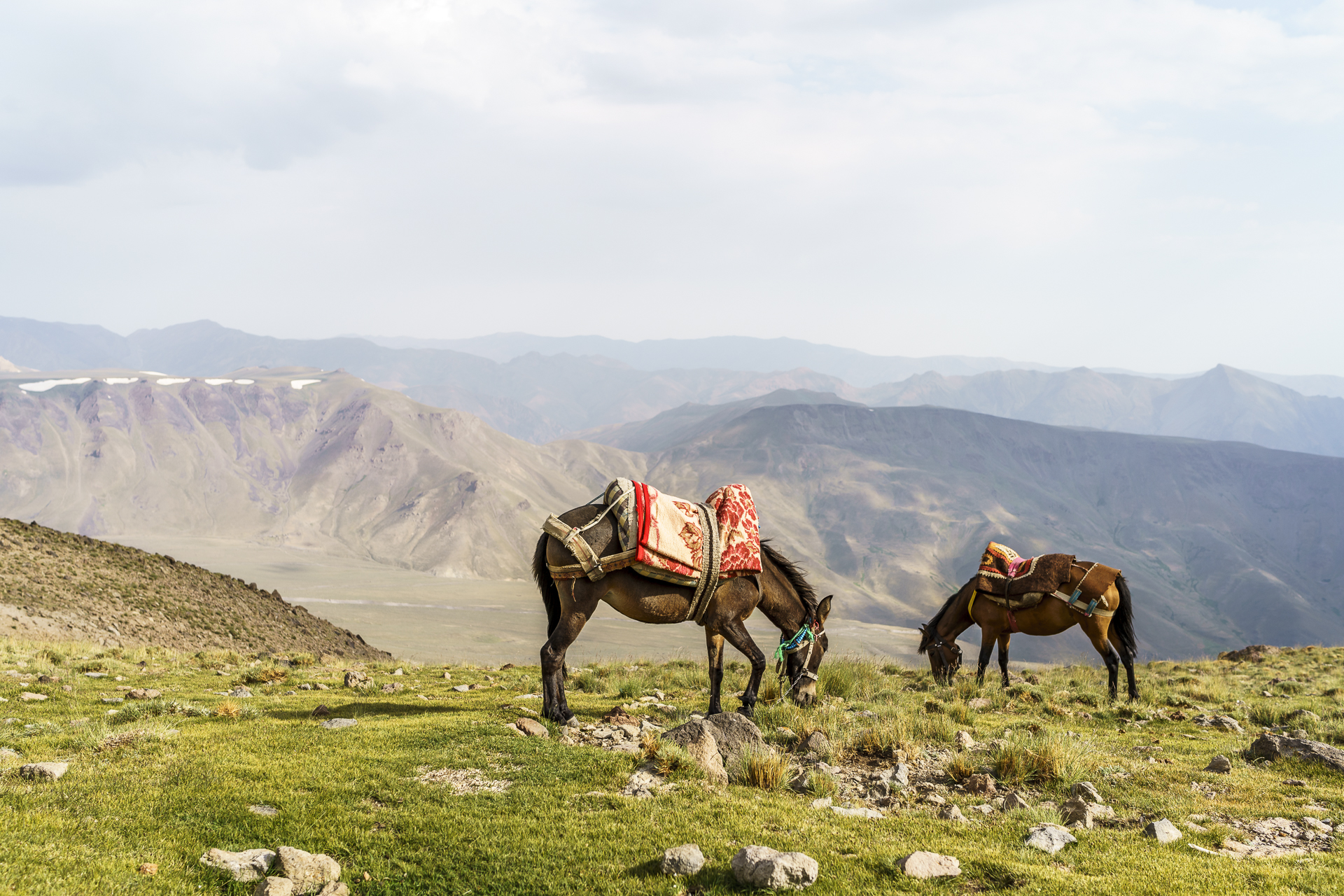 Idylle Berggebiet Iran