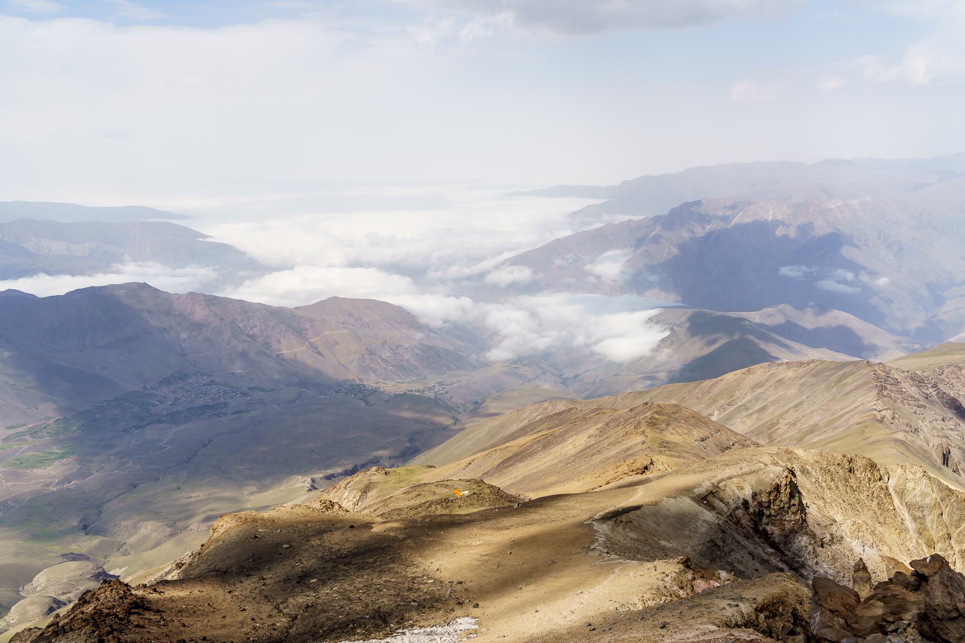 Mount Damavand Panorama