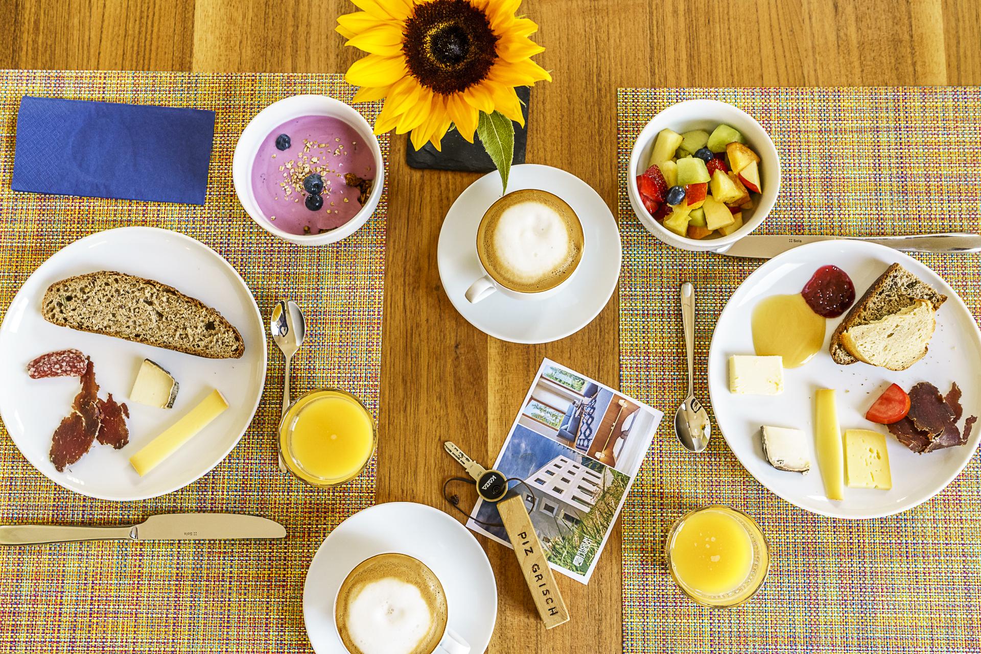 Pensiun Laresch Frühstück