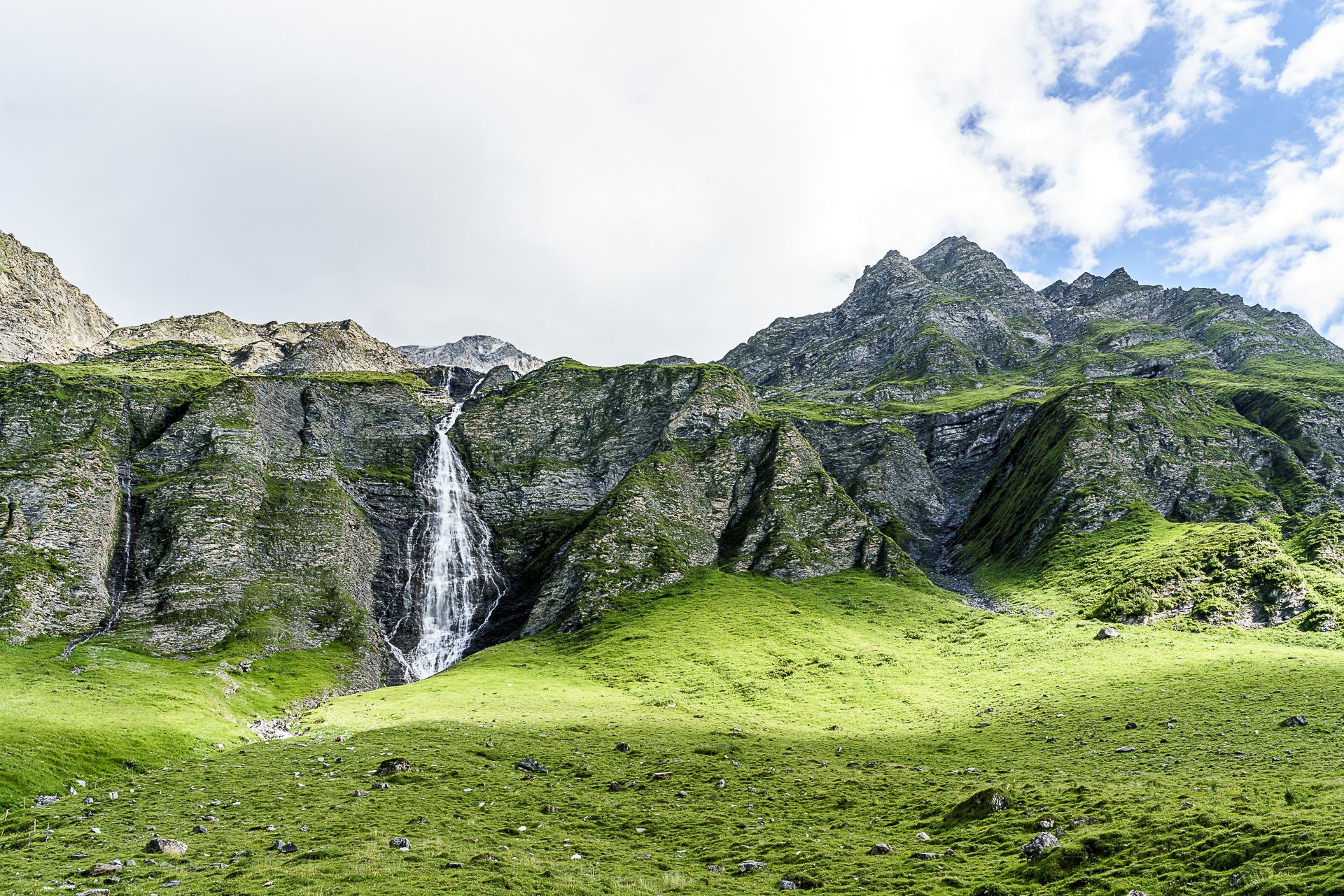 Rabiusa Wasserfall Safiental