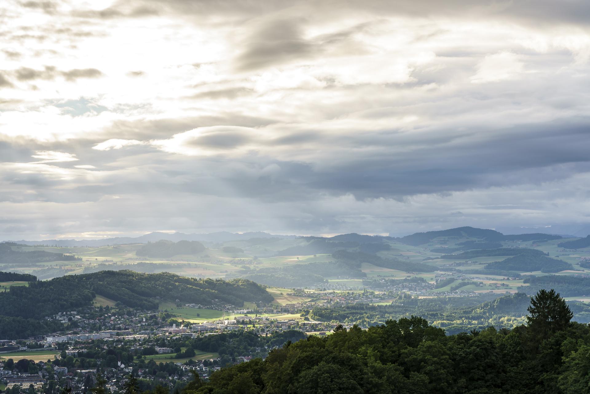 Sonnenaufgang Bern
