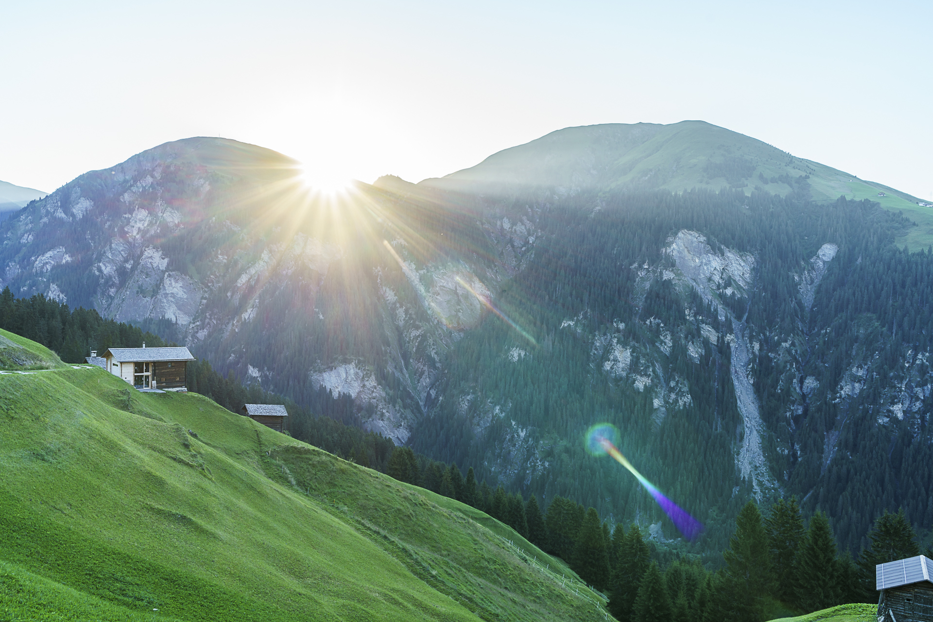 Sonnenaufgang Safiental