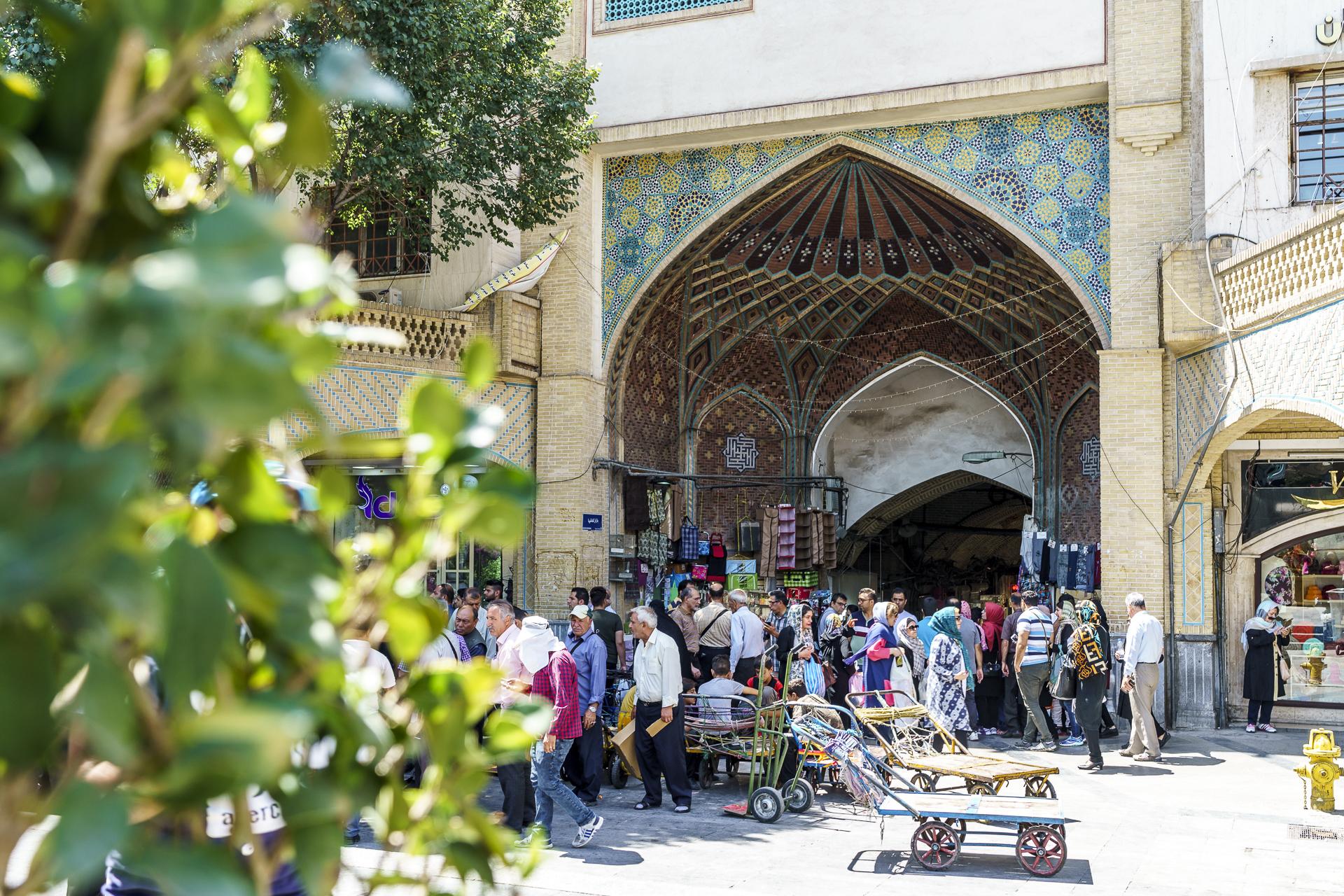 Teheran Grosser Basar Tor