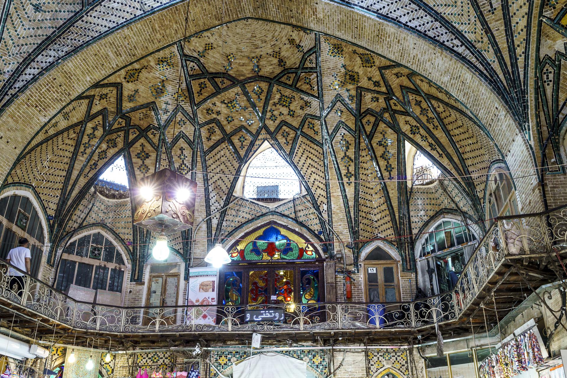 Wunderschöne Deckenkonstruktion im Grossen Basar