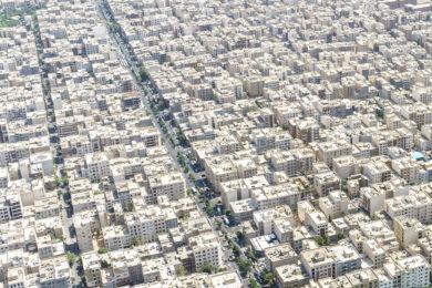 Vogelblick auf Teheran