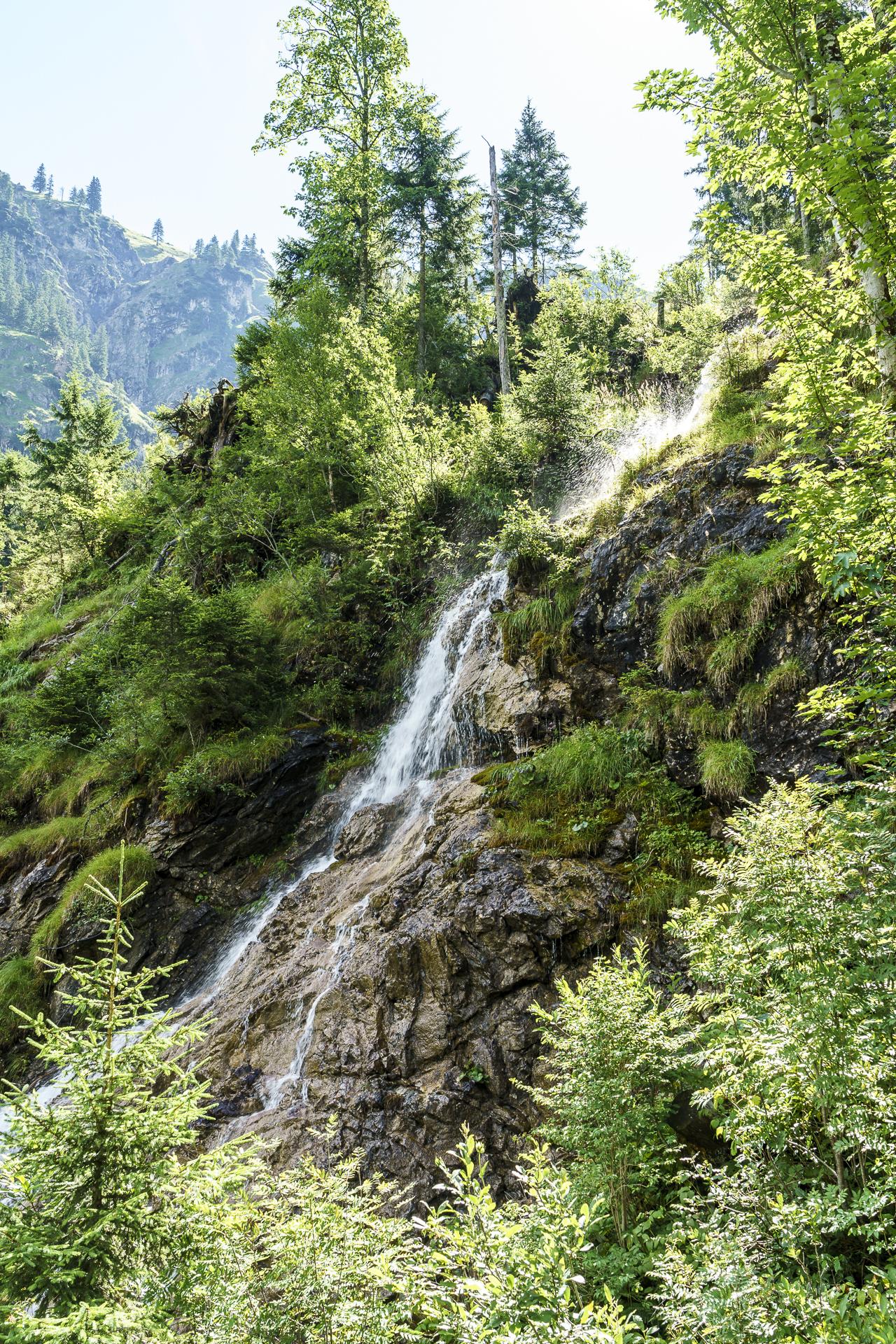 Aufstieg Landsberger Hütte