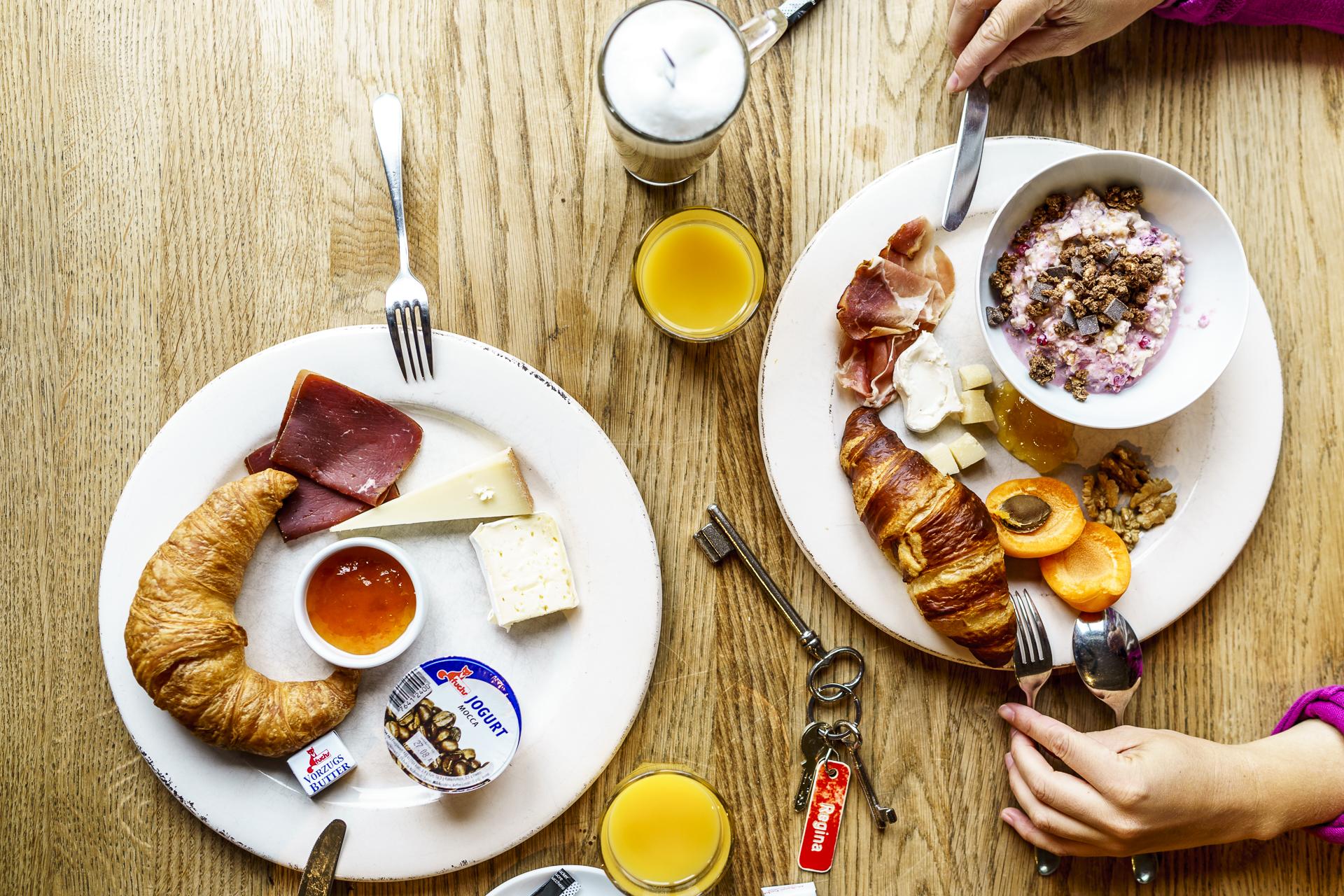Hotel WunderBar Frühstück