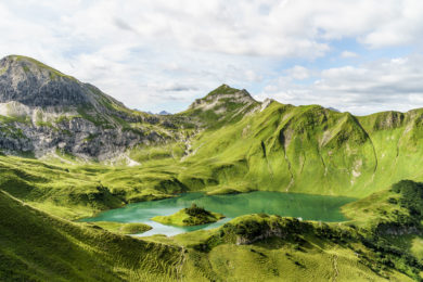 Schrecksee Allgäuer Alpen
