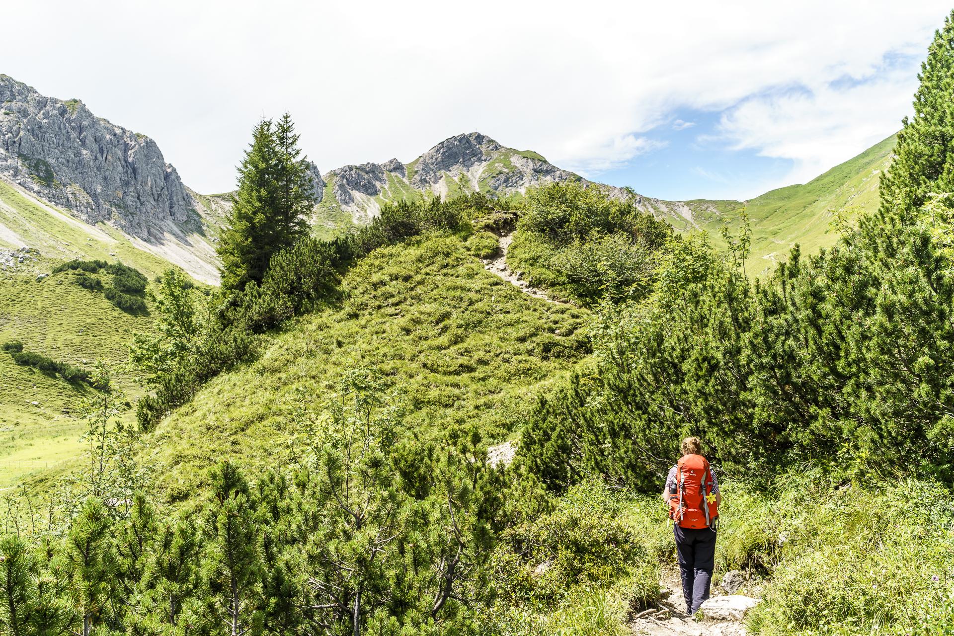 Wanderung Landsberger Hütte