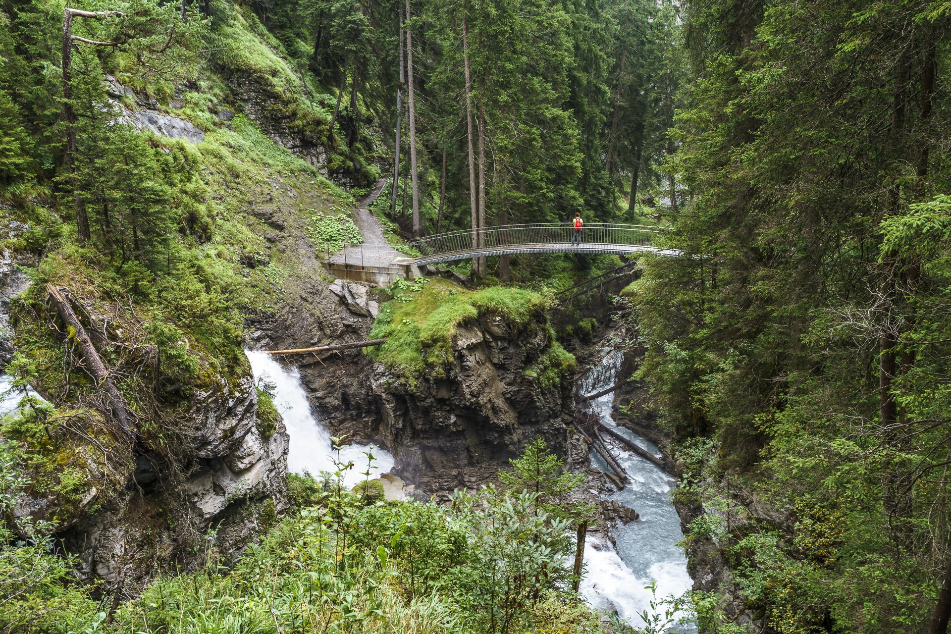 Wasserweg Flims Brücken