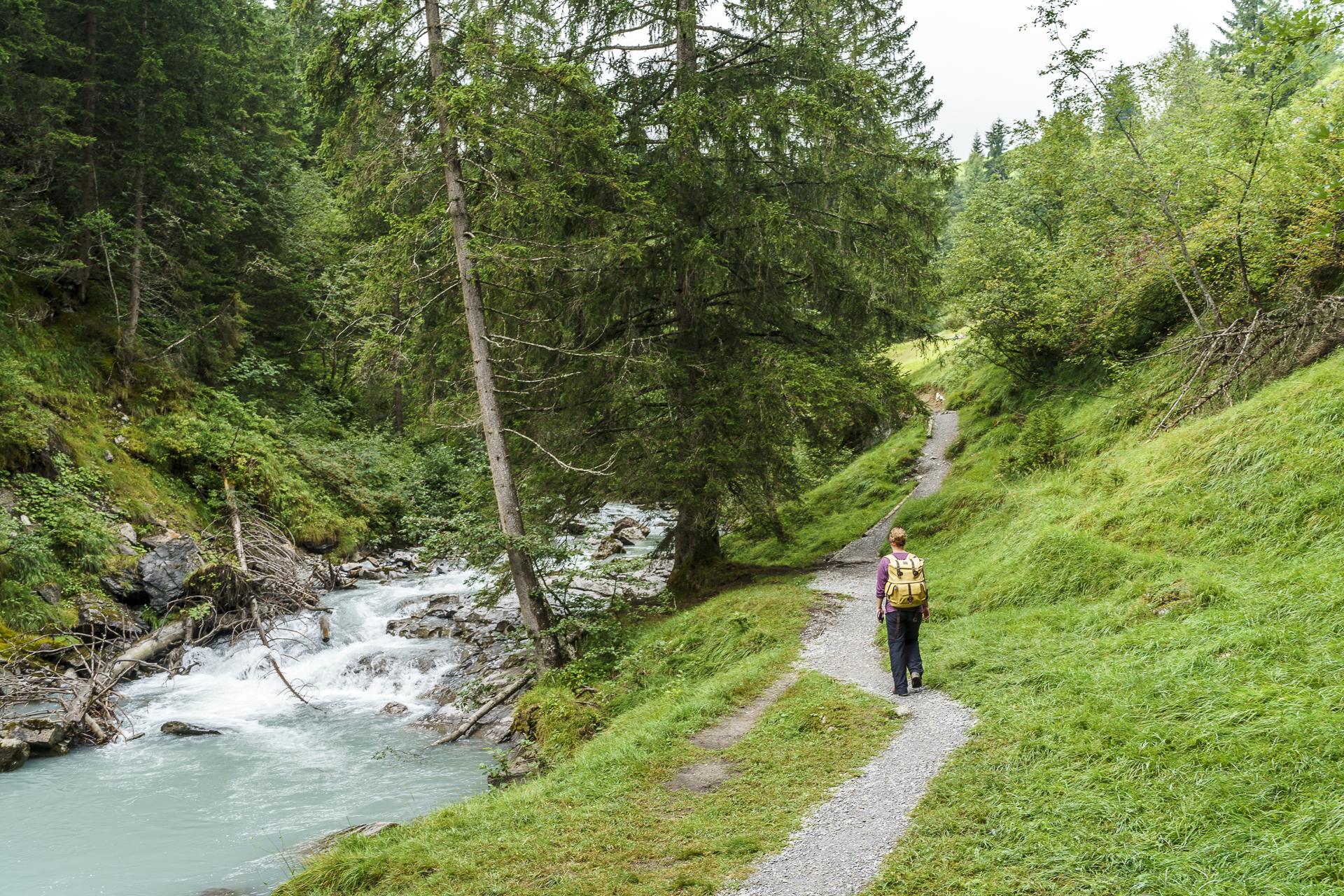 Wanderung Flimser Wasserweg Flims