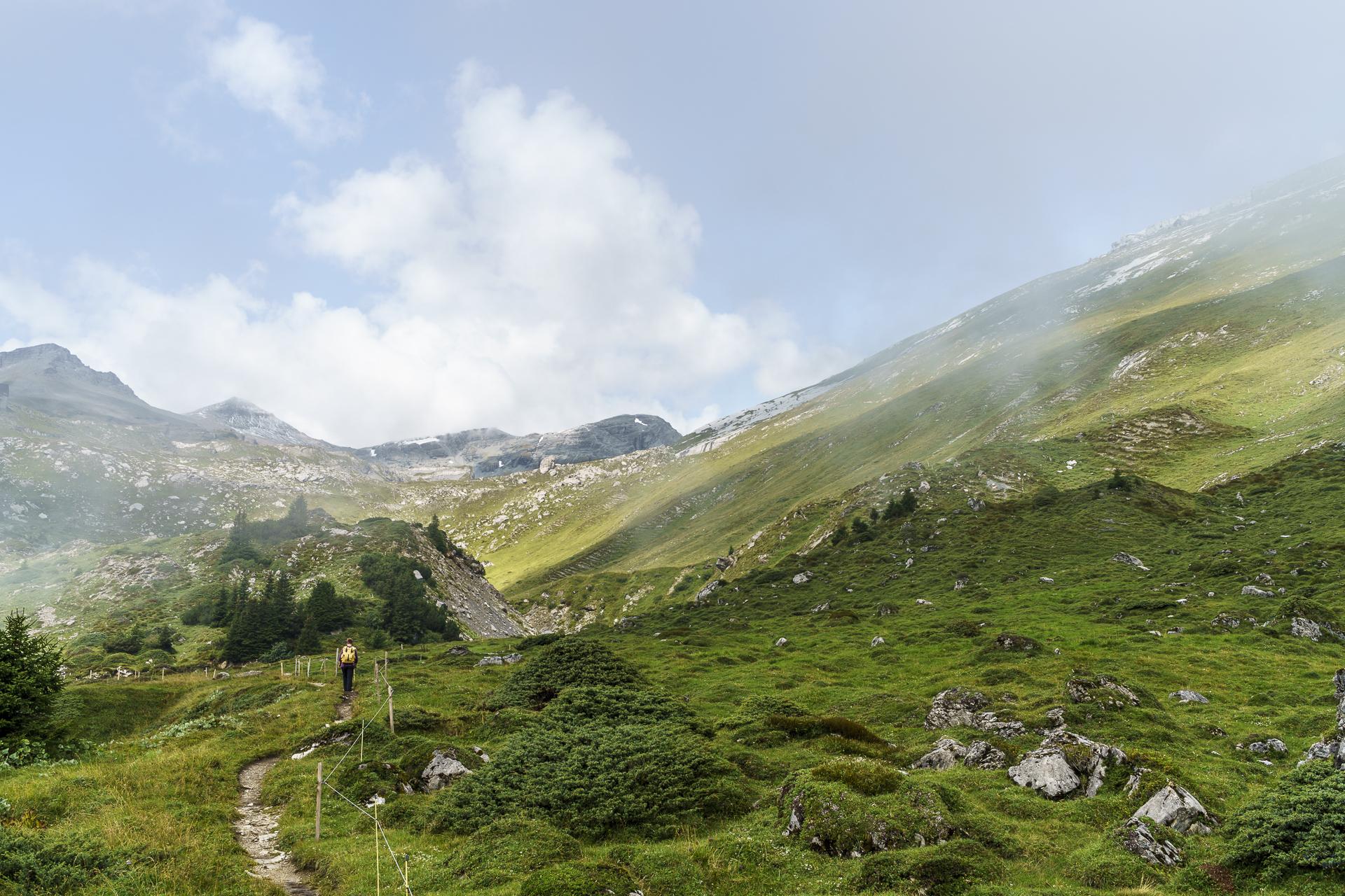 Wanderung zur Segneshütte