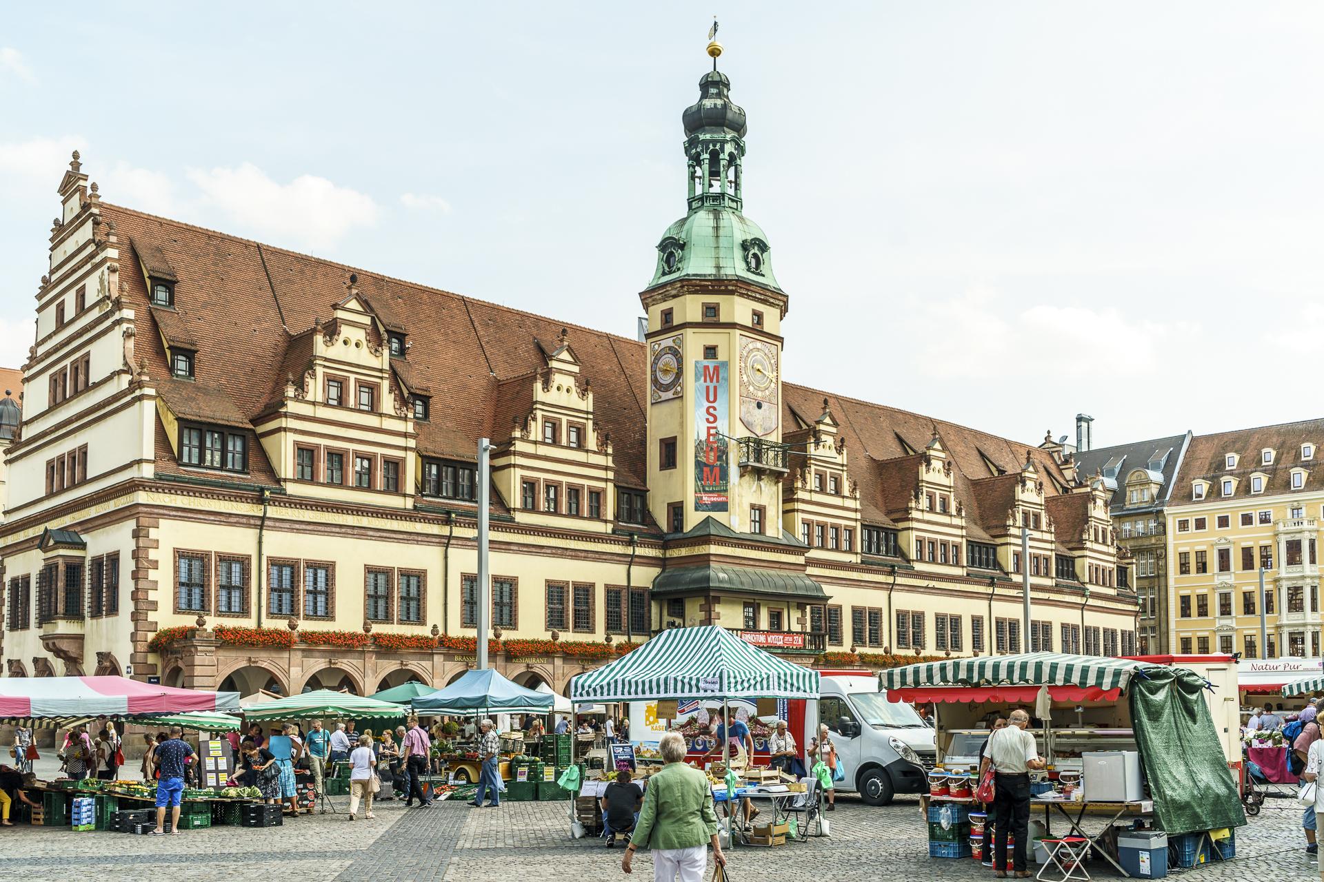 Altes Rathaus Stadtgeschichtliches Museum Leipzig