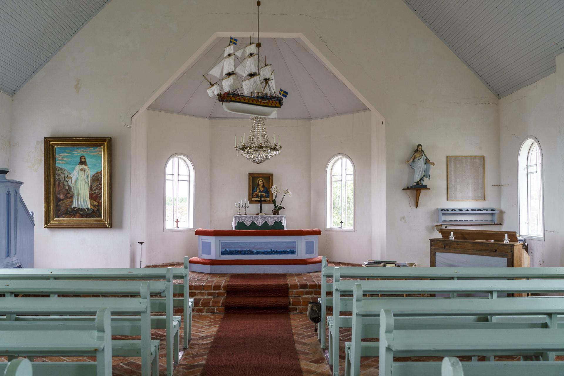 Aspö Kirche