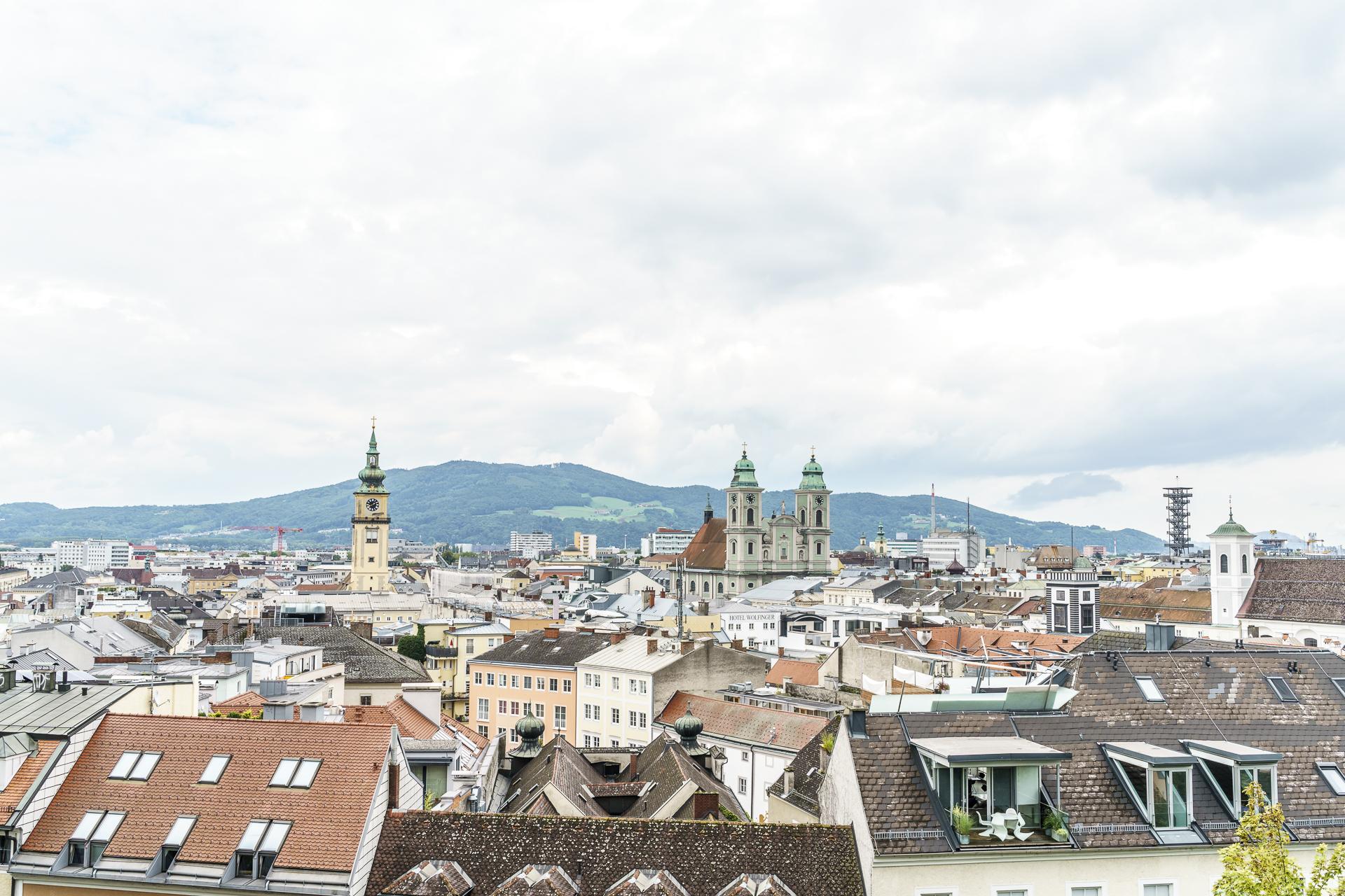 Aussicht Linzer Schloss