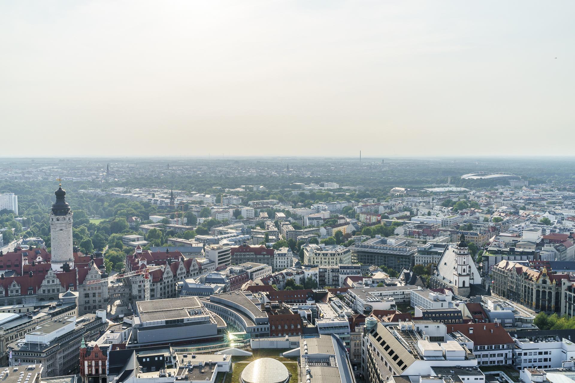 Aussichtspunkt Leipzig
