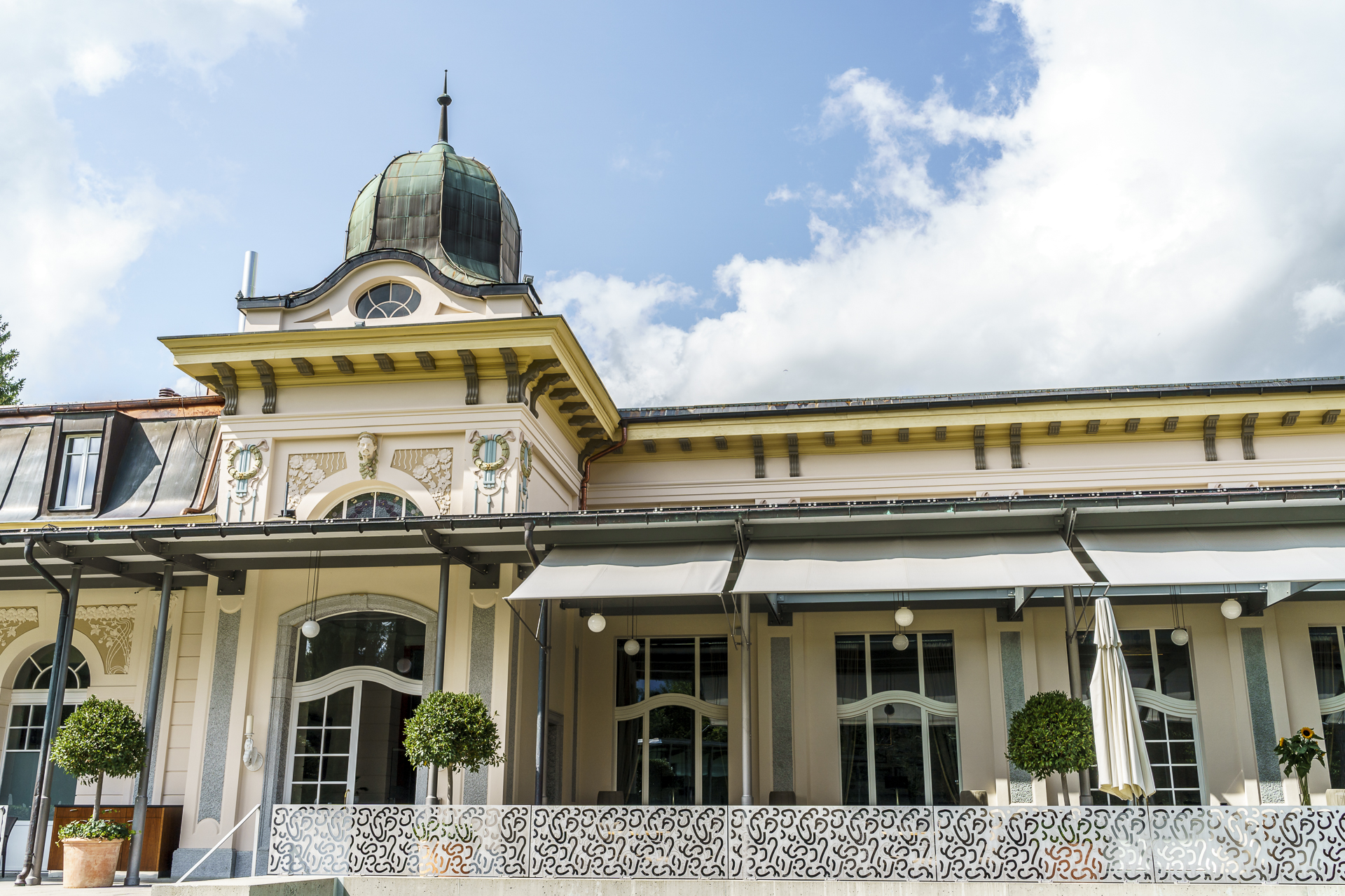 Jugendstilpavillon Waldhaus Flims