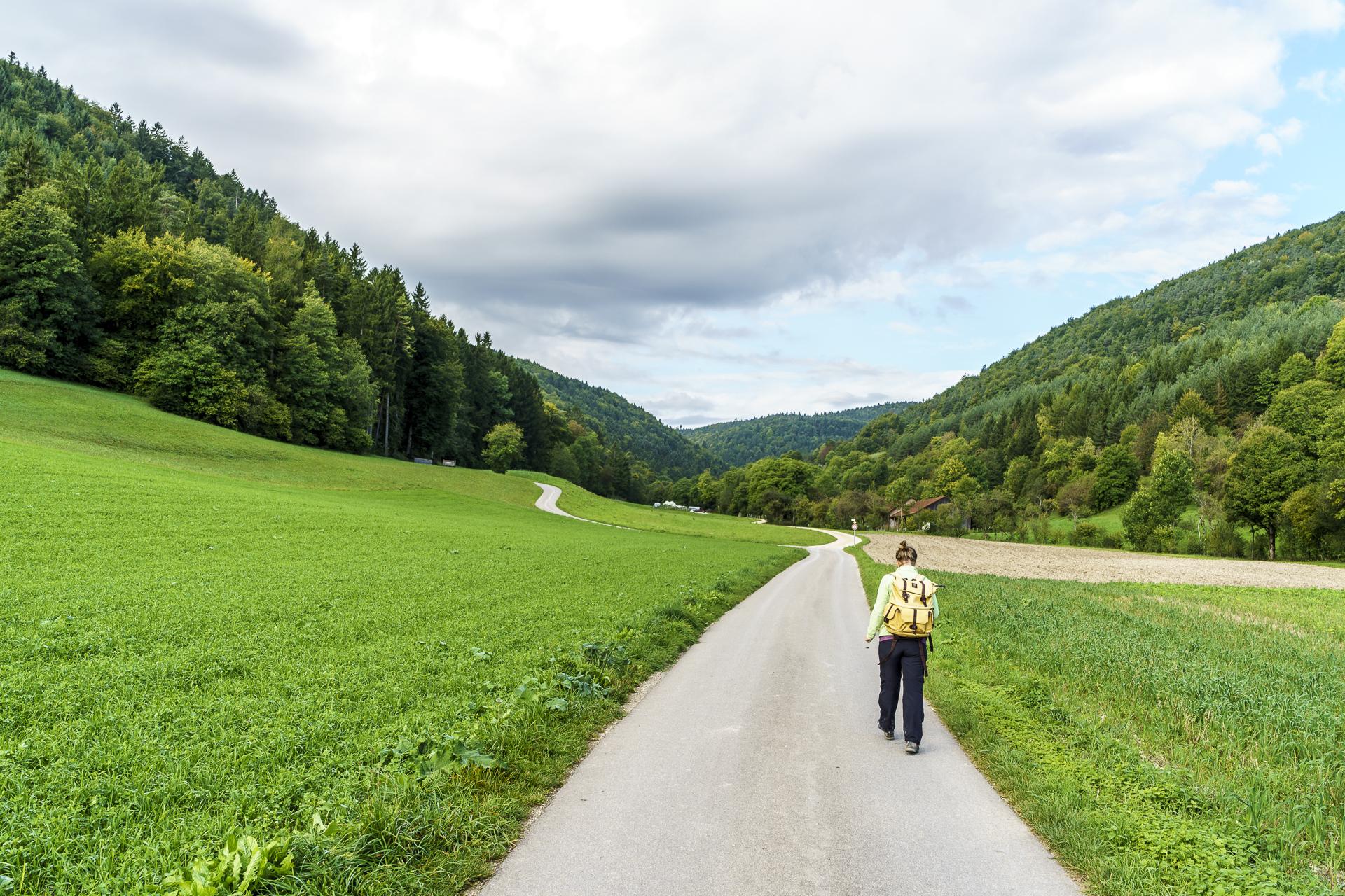 Merishausen Schleitheim Wanderung
