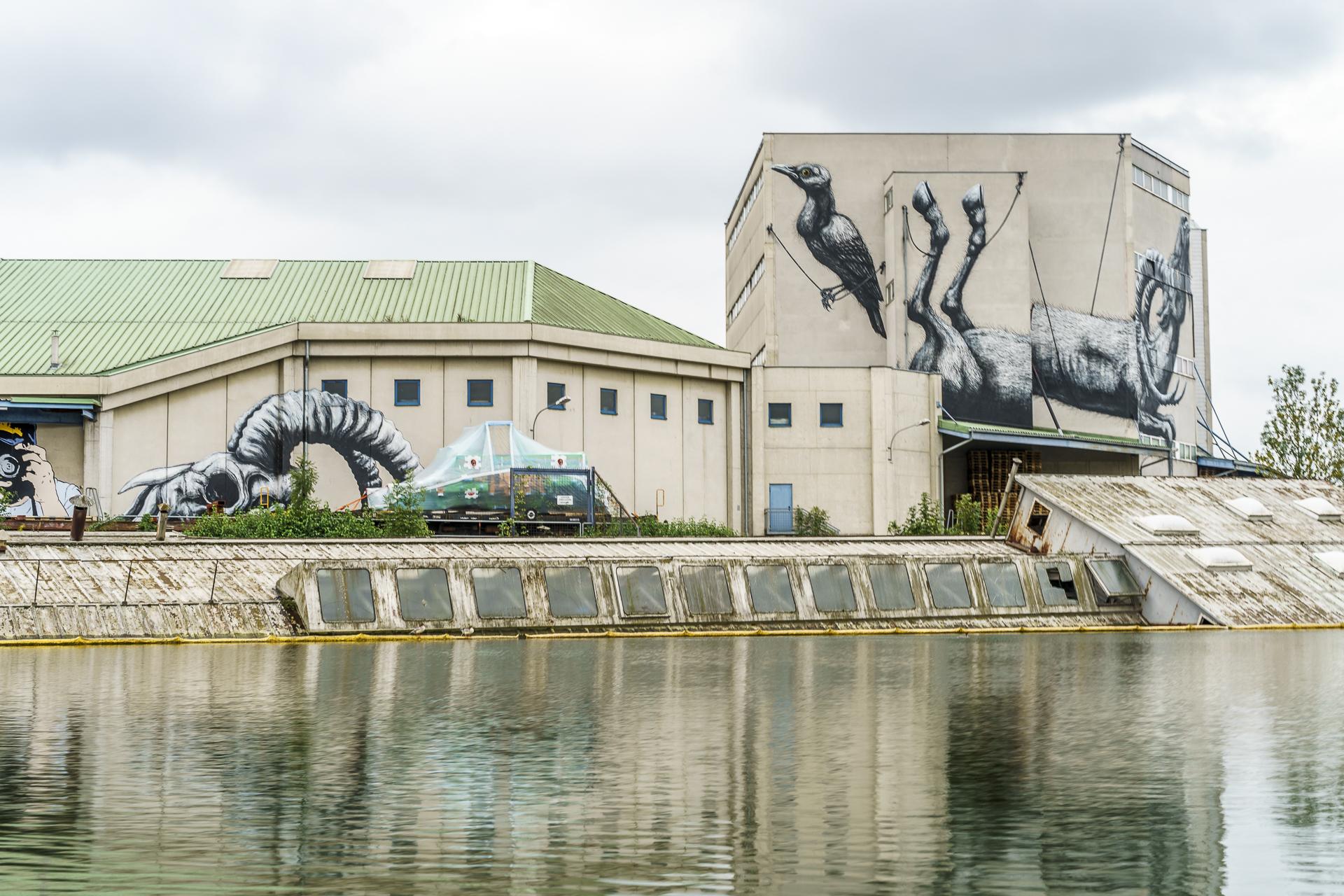 Mural Harbor Linz ROA