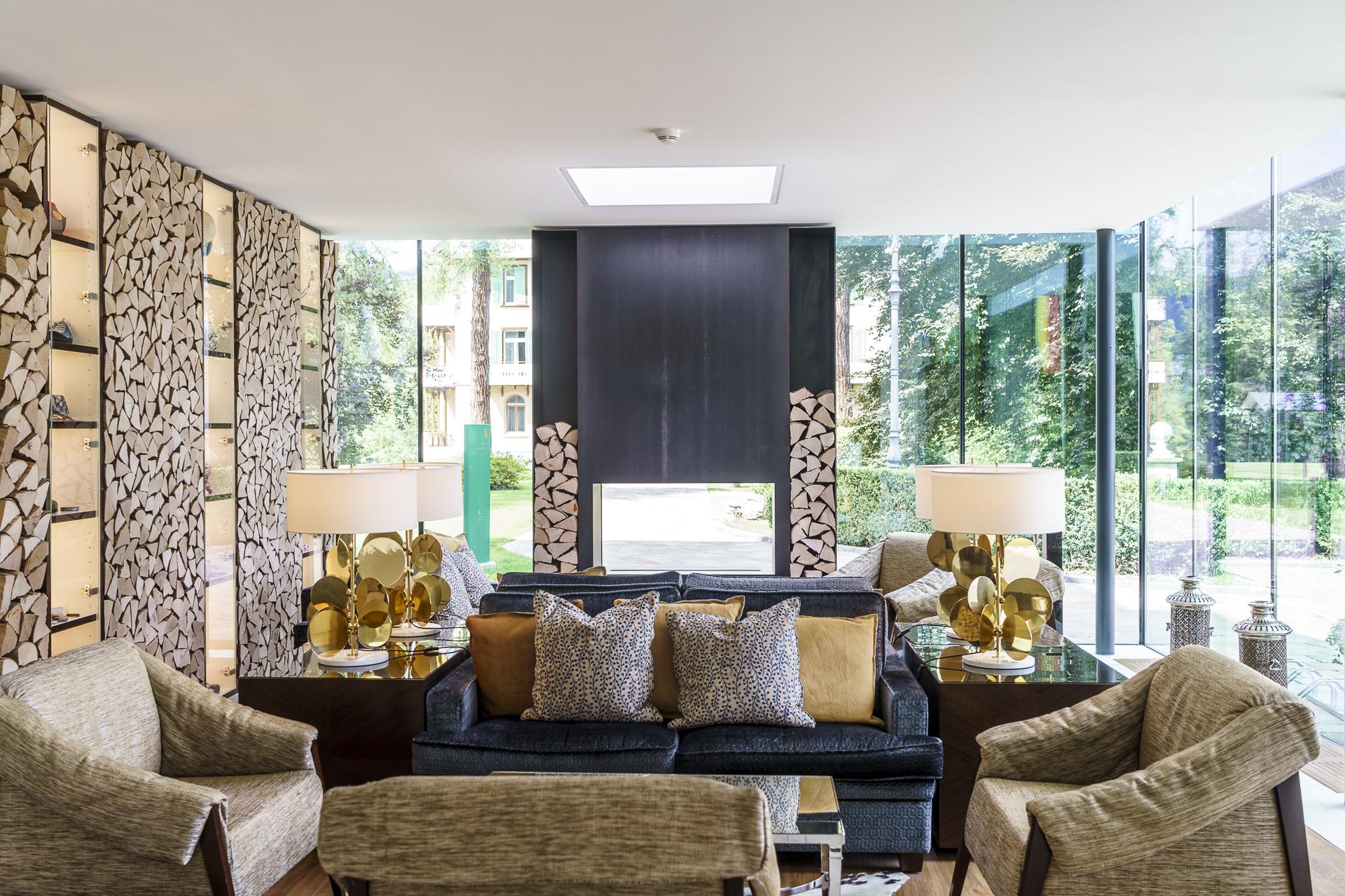 Waldhaus Flims Lobby