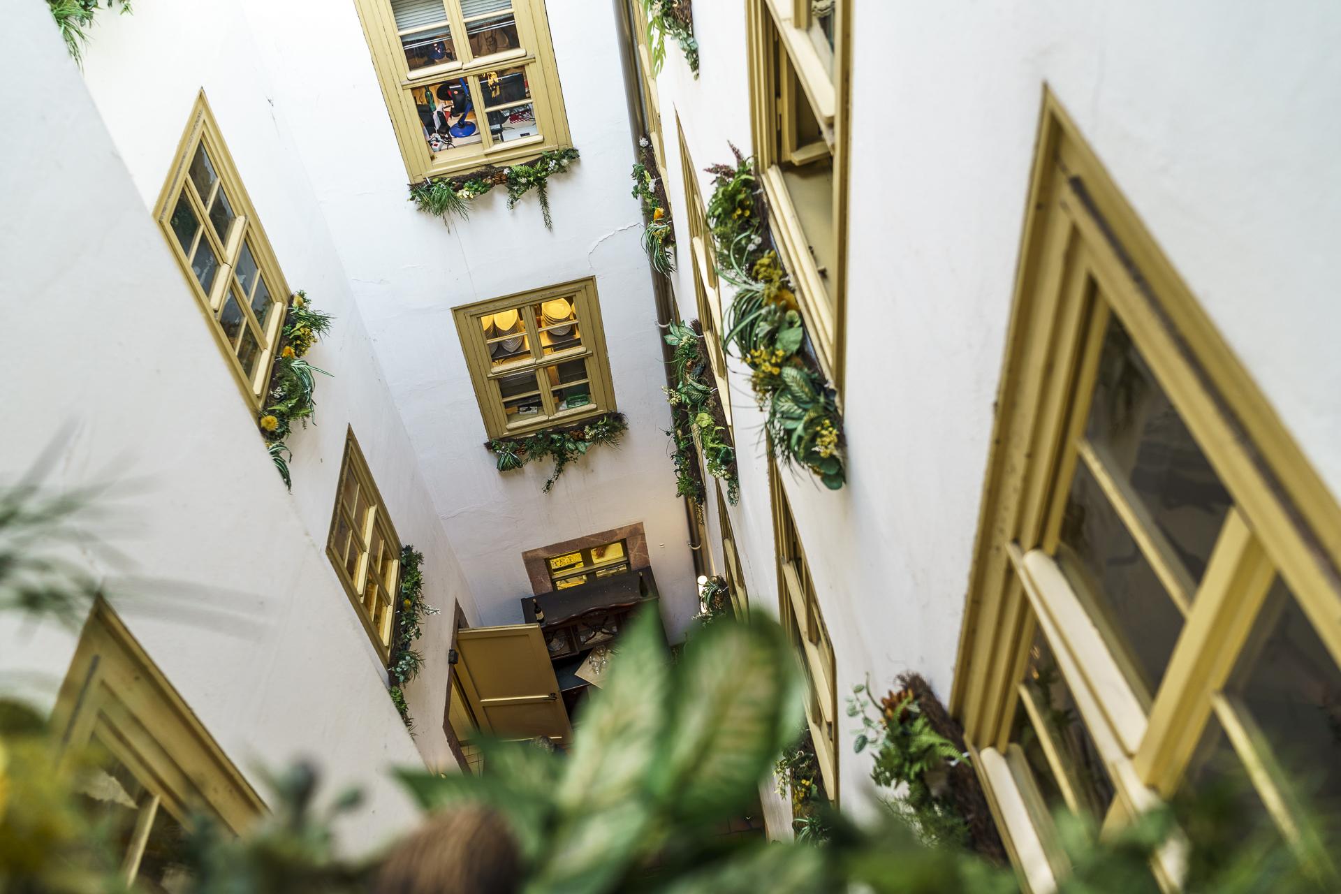 Zum Arabsichen Coffeebaum Innenhof
