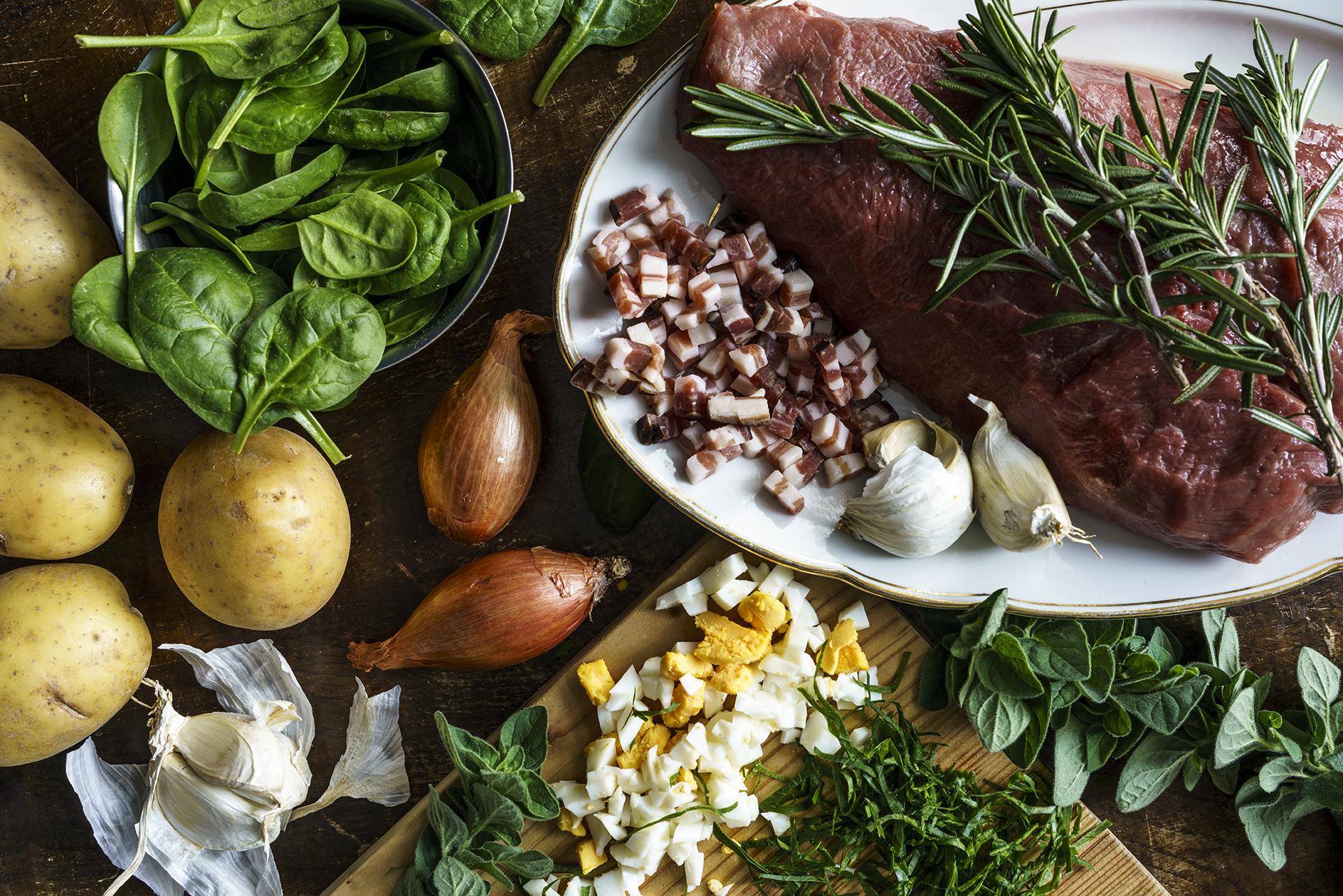 Kulinarische Zeitreisen Mise en Place